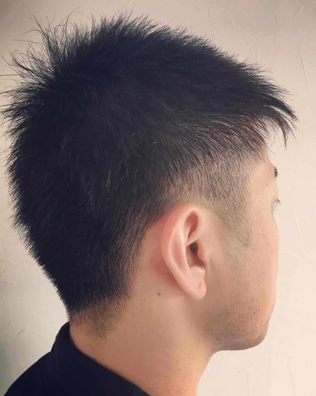 メンズショート メンズカット ストリート メンズヘア ヘアスタイルや髪型の写真・画像 | エイ / aime