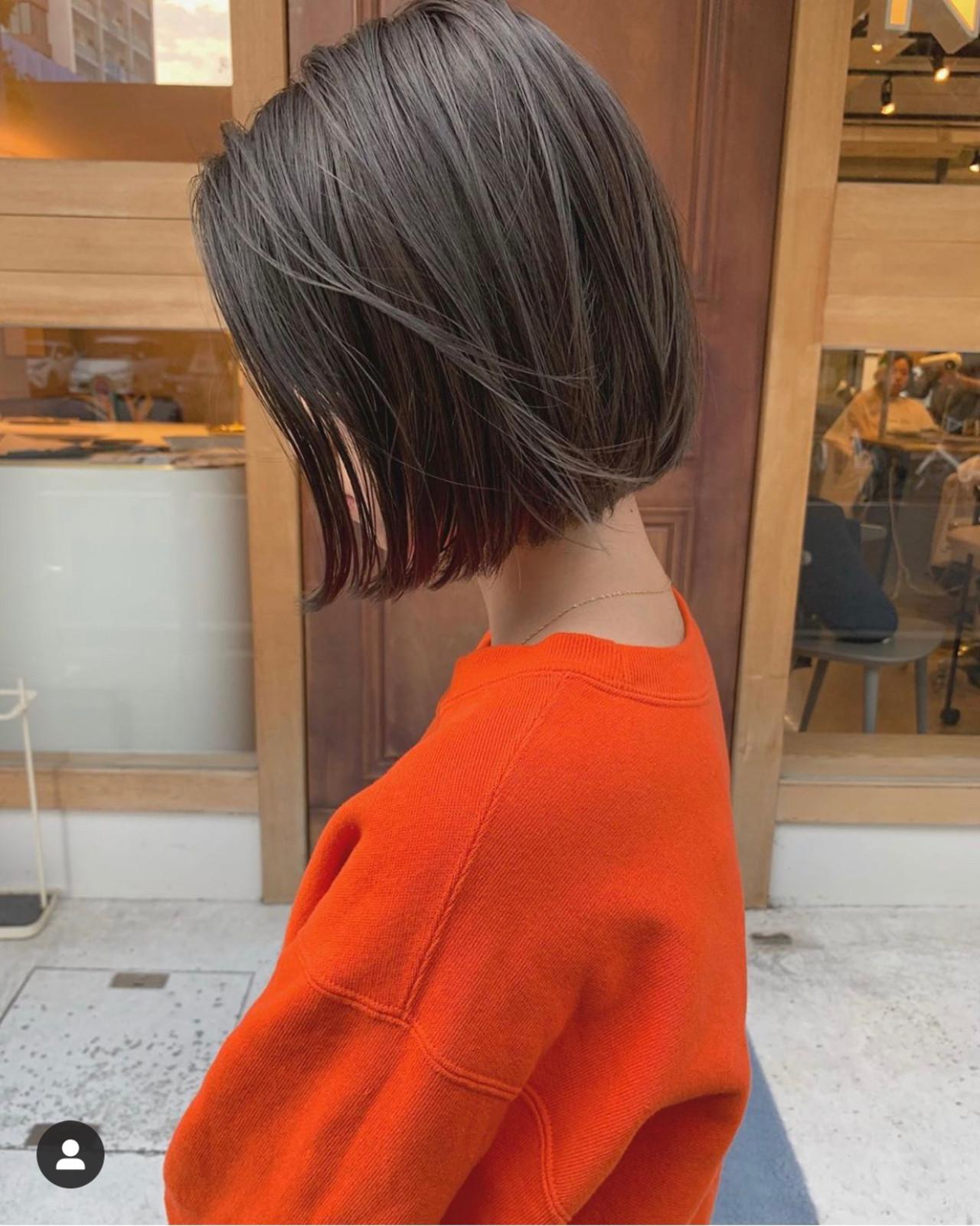 ボブ ショートボブ ショートヘア ベリーショート ヘアスタイルや髪型の写真・画像 | KENTO.NOESALON / NOE SALON