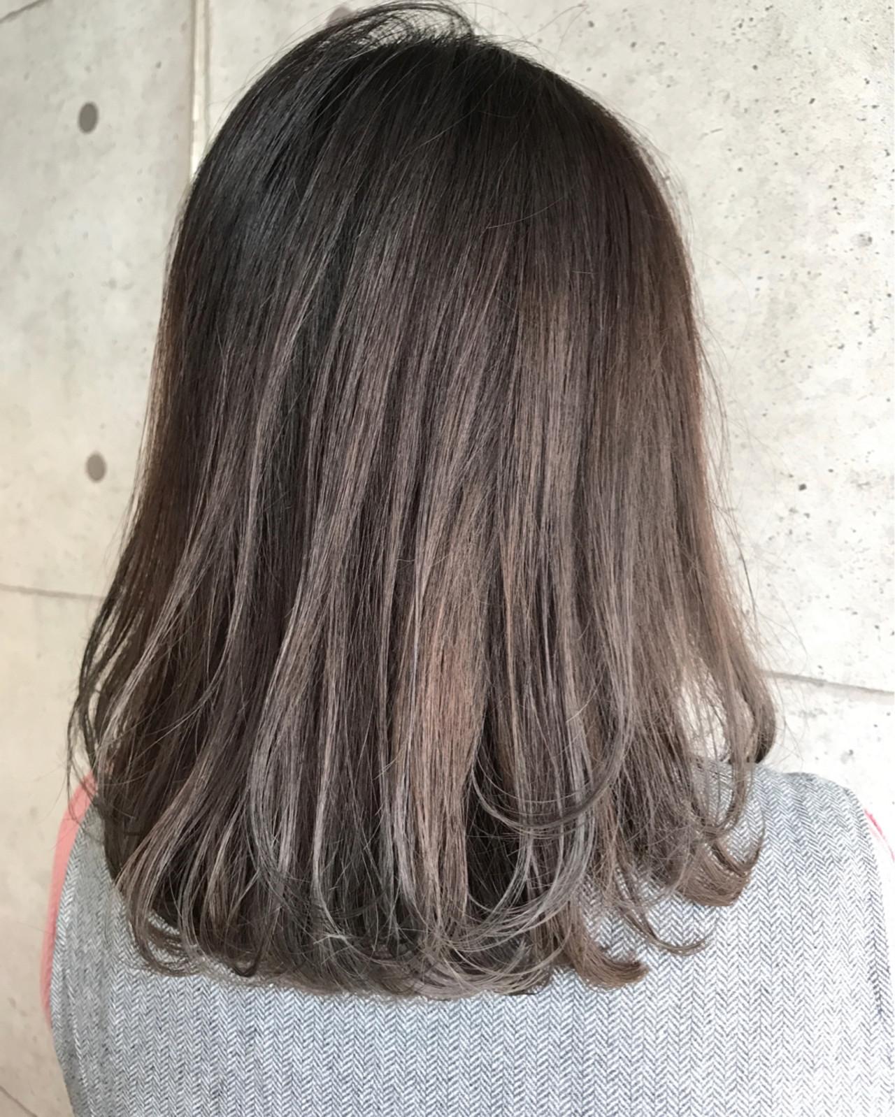 色気 ミディアム ボブ 外国人風 ヘアスタイルや髪型の写真・画像   miya/@1031miya / フリーランス(XENA)