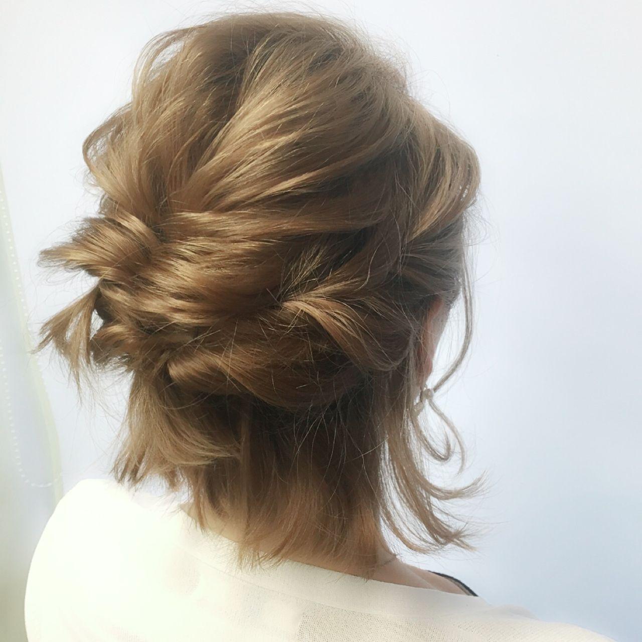 ゆるふわ 大人かわいい ヘアアレンジ 愛され ヘアスタイルや髪型の写真・画像   関根 竜太 / peace omotesando