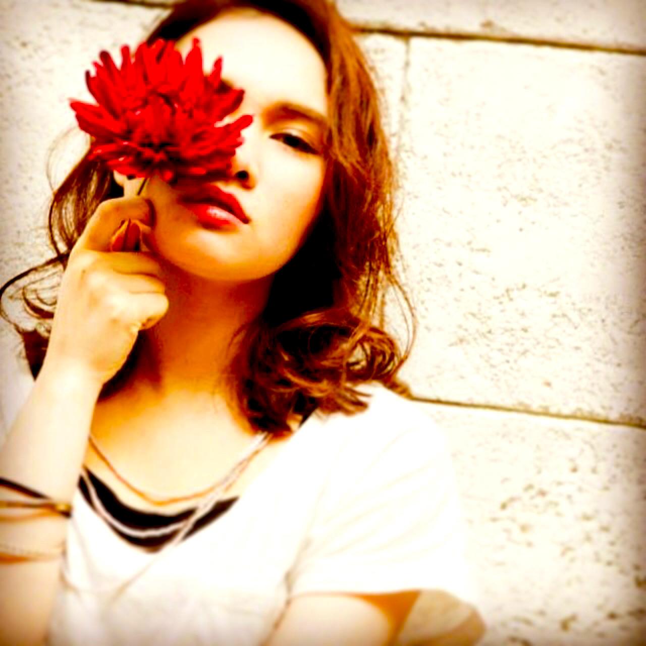 外国人風 アッシュ グラデーションカラー ストリート ヘアスタイルや髪型の写真・画像
