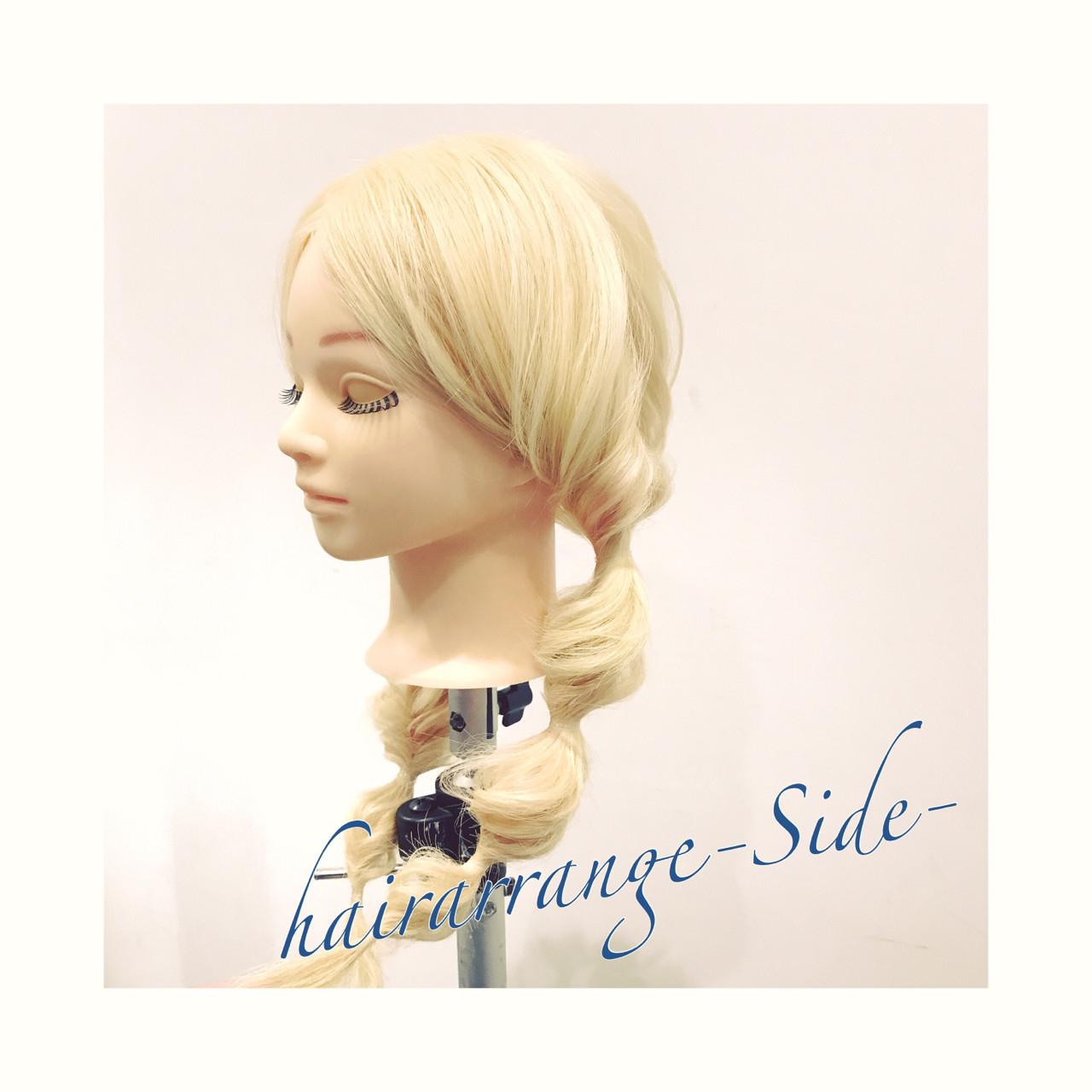 くるりんぱ 簡単ヘアアレンジ ツインテール ヘアアレンジ ヘアスタイルや髪型の写真・画像