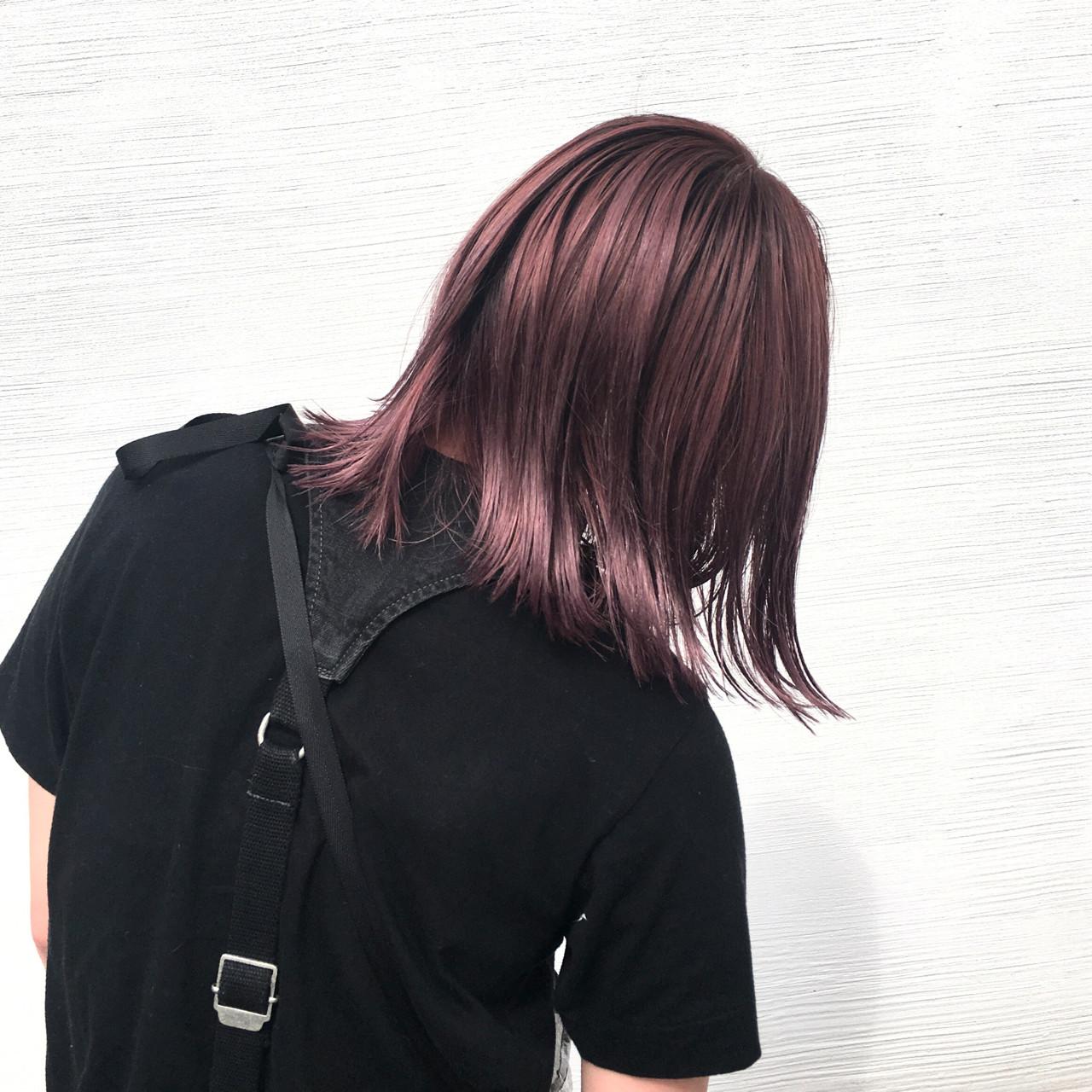 ブリーチ ダブルカラー モード ハイトーン ヘアスタイルや髪型の写真・画像 | 井上 拓耶 / know hair studio