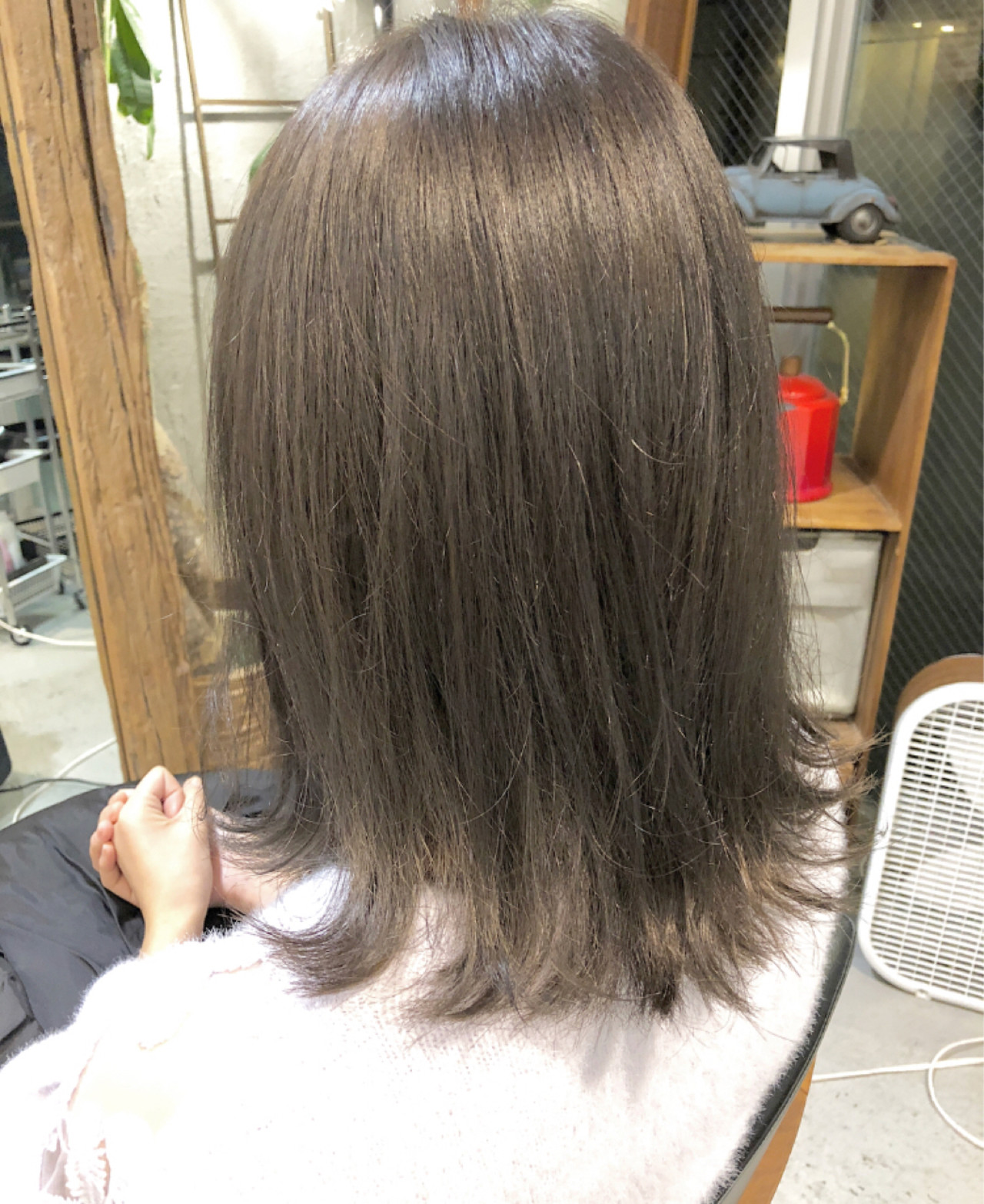デート ナチュラル 黒髪 外ハネ ヘアスタイルや髪型の写真・画像