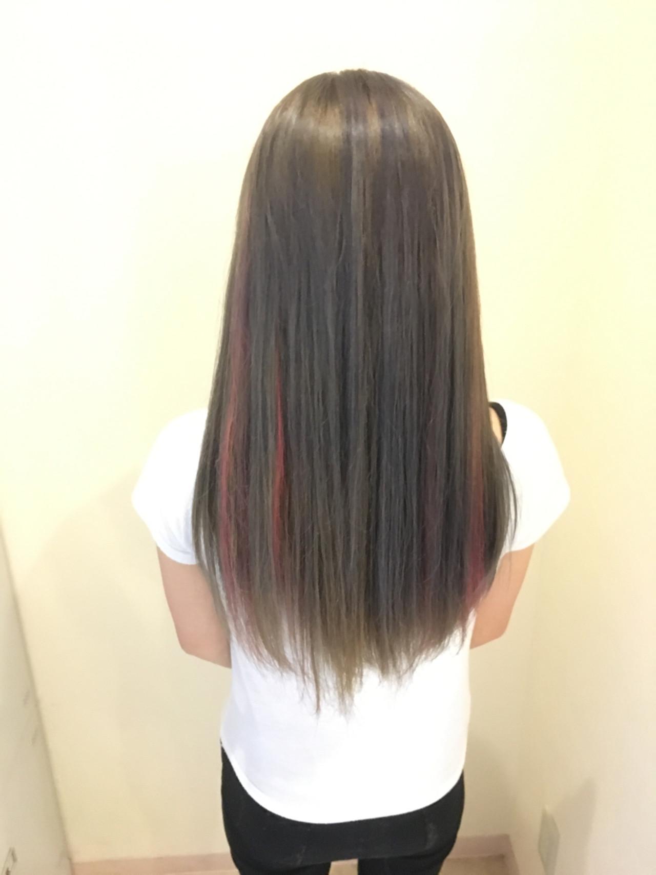 フェミニン ロング 透明感 モテ髪 ヘアスタイルや髪型の写真・画像