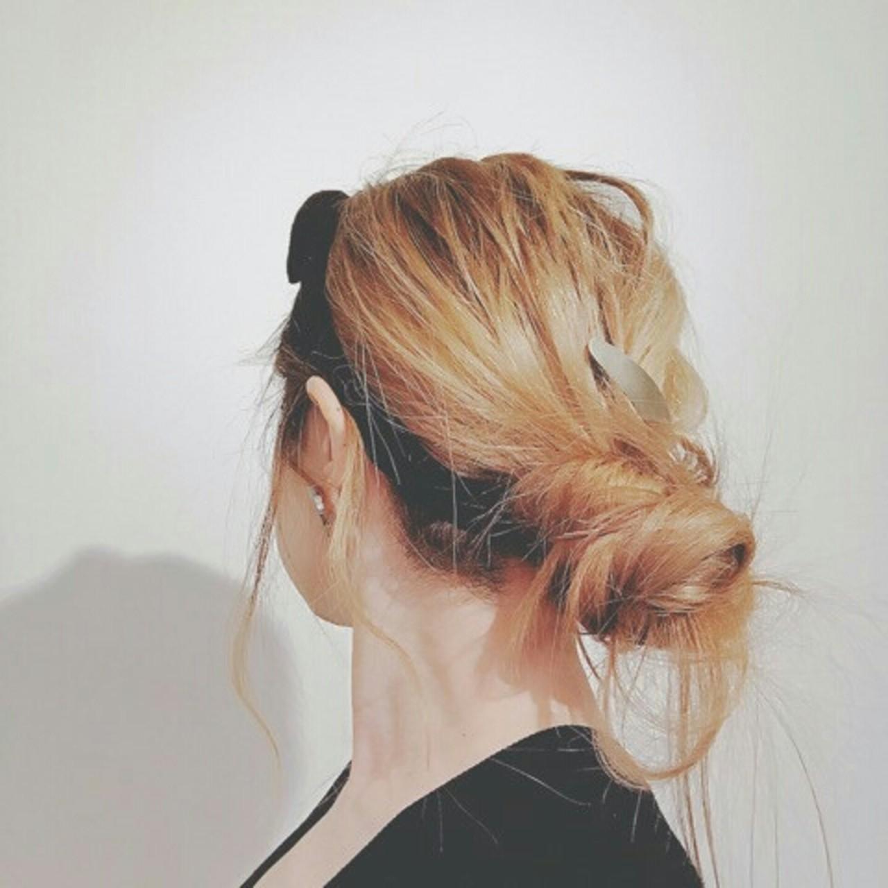 ヘアアレンジ 春 ストリート ロング ヘアスタイルや髪型の写真・画像