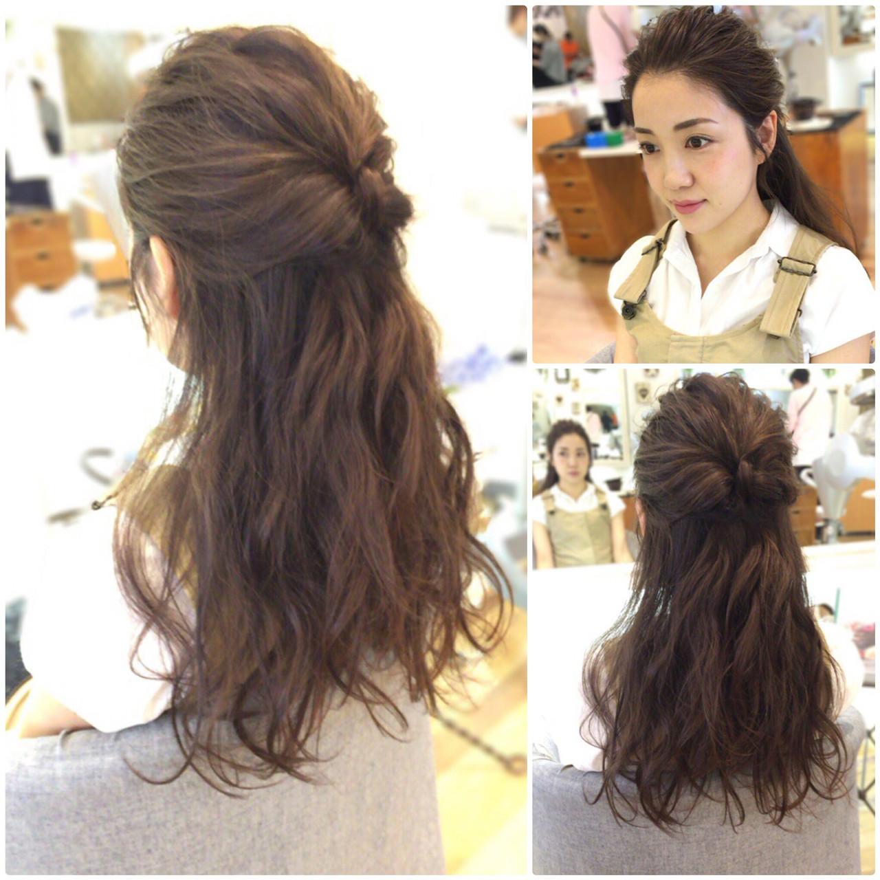 アップスタイル ヘアアレンジ フェミニン 結婚式 ヘアスタイルや髪型の写真・画像