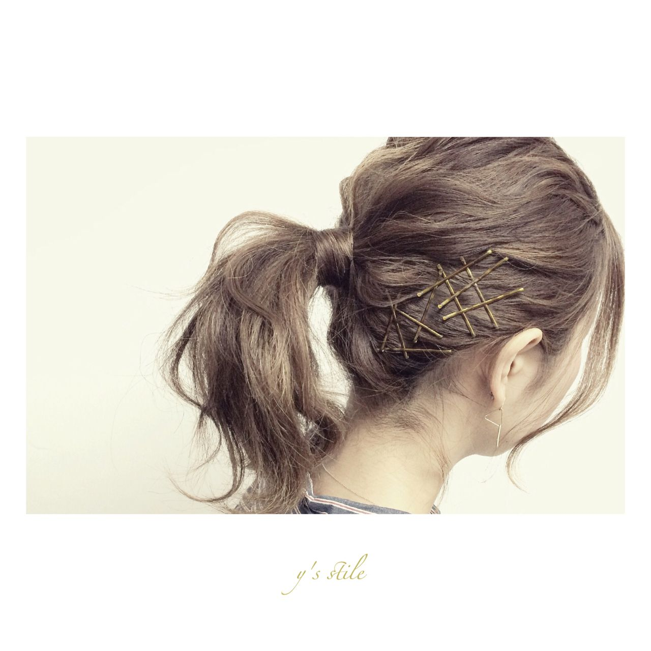 ナチュラル 春 アップスタイル ヘアアレンジ ヘアスタイルや髪型の写真・画像 | YUJI / LIICHI / LIICHI (リイチ)