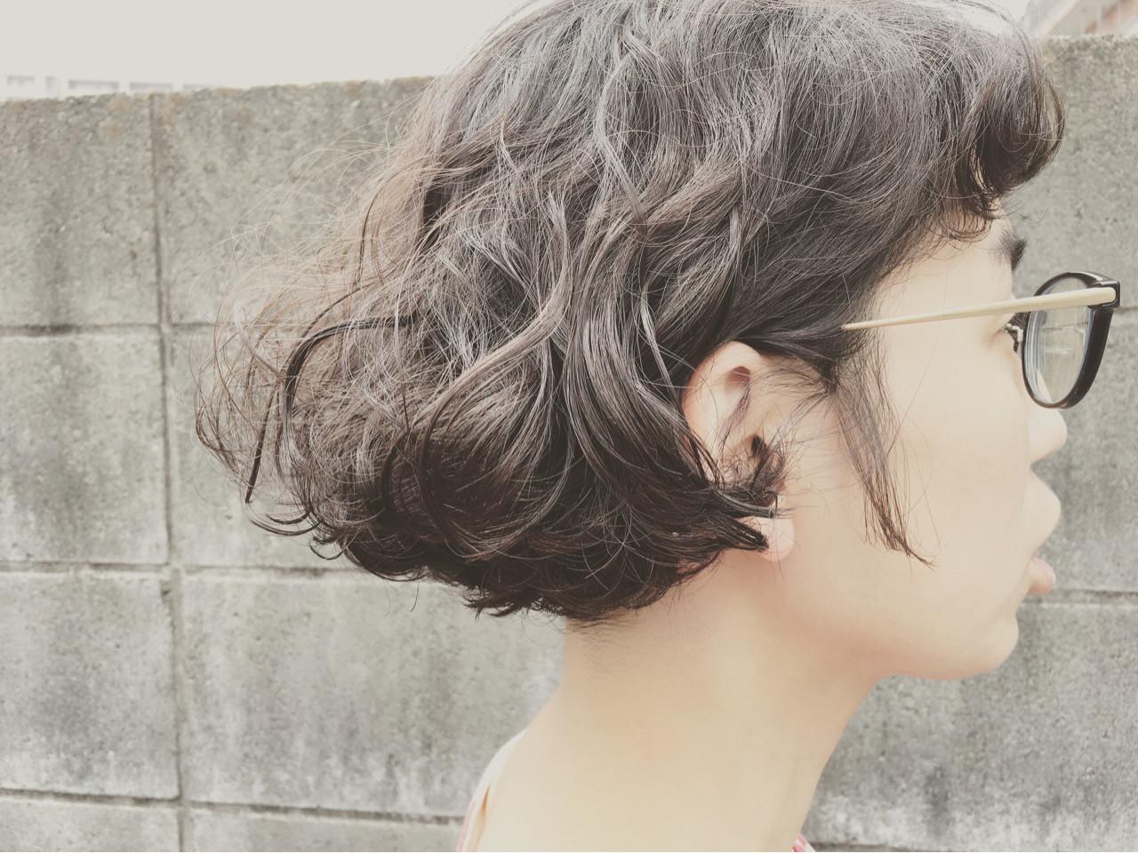 ストリート ショート くせ毛風 ガーリー ヘアスタイルや髪型の写真・画像 | 中山大地 / MONARUDA/モナルダ