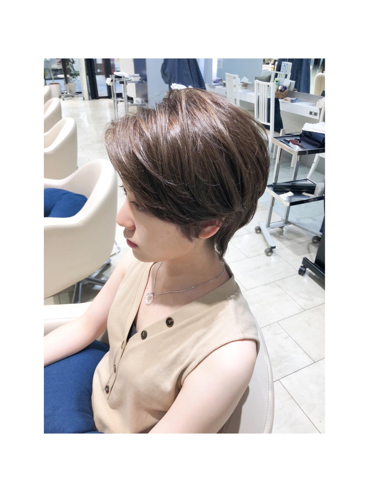 ミニボブ ショートヘア ショートボブ ボブ ヘアスタイルや髪型の写真・画像