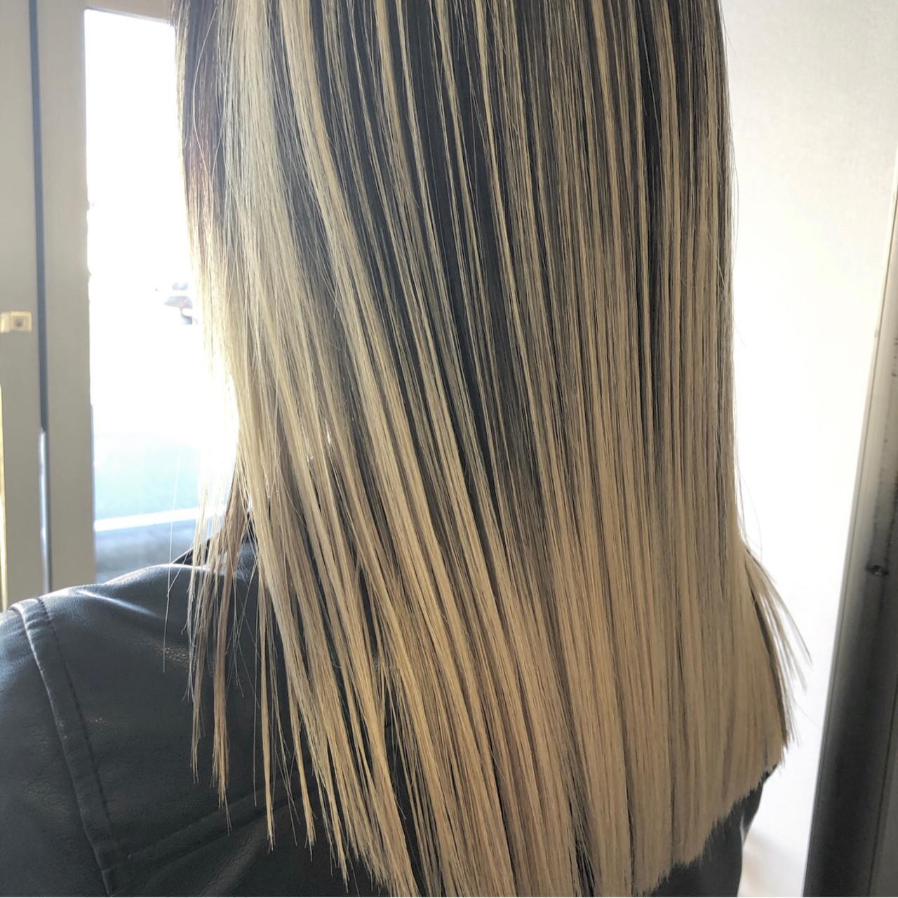 外国人風カラー 成人式 モード 外国人風 ヘアスタイルや髪型の写真・画像 | アンドウ ユウ / agu hair edge