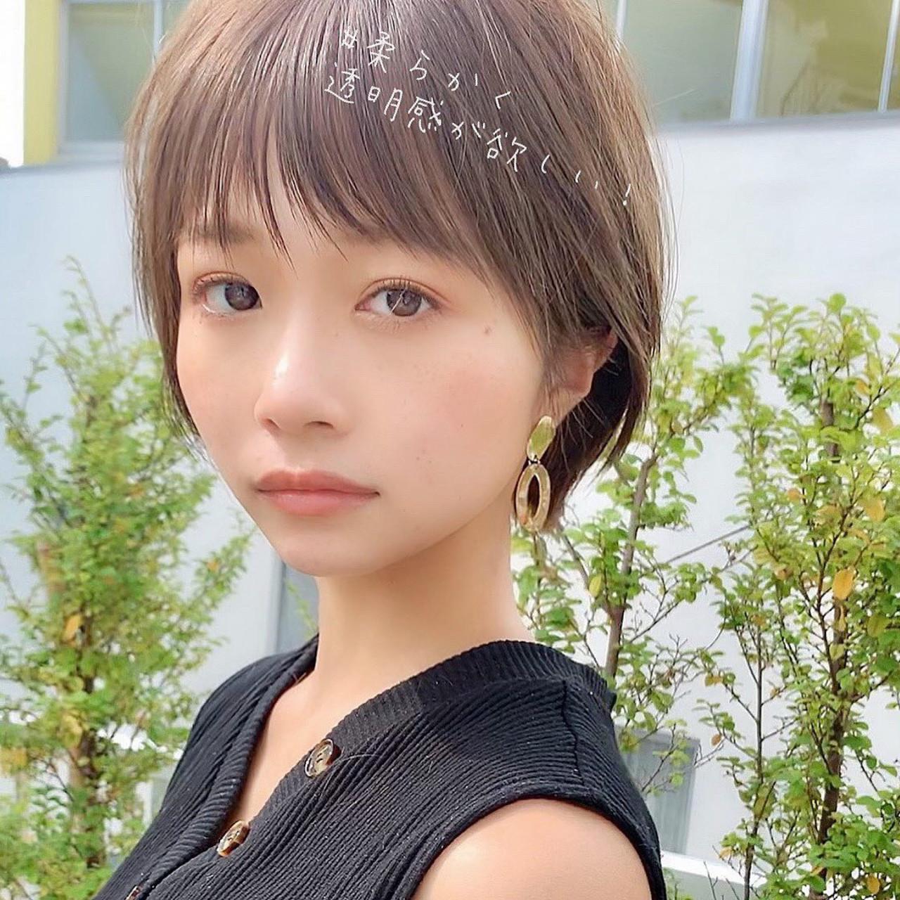 ショートボブ ミニボブ ショート ベリーショート ヘアスタイルや髪型の写真・画像   大上海人 / 『 i. 』omotesando