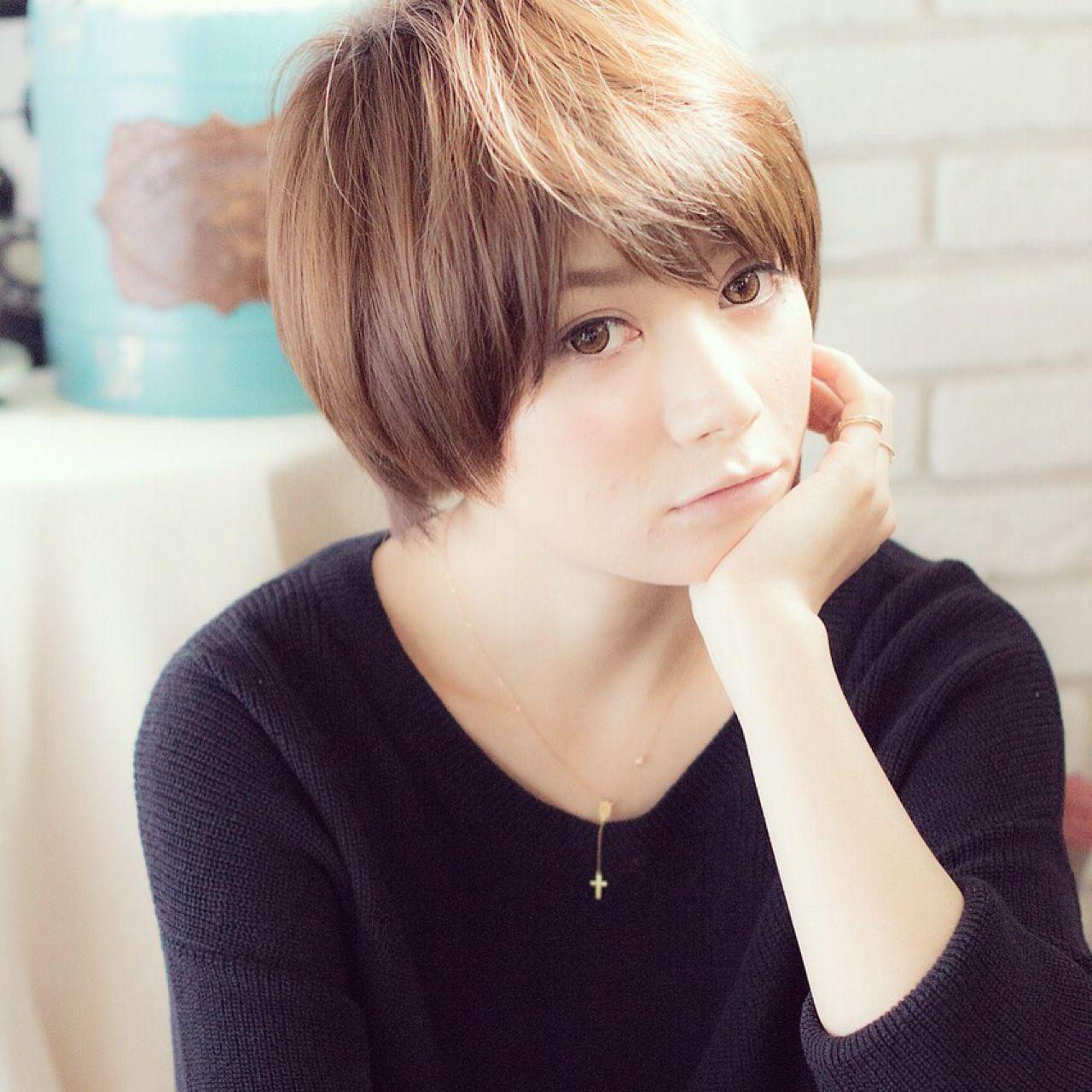 ショート 愛され 大人かわいい モテ髪 ヘアスタイルや髪型の写真・画像 | 東海林翔太 LinobyU-REALM / Lino by U-REALM