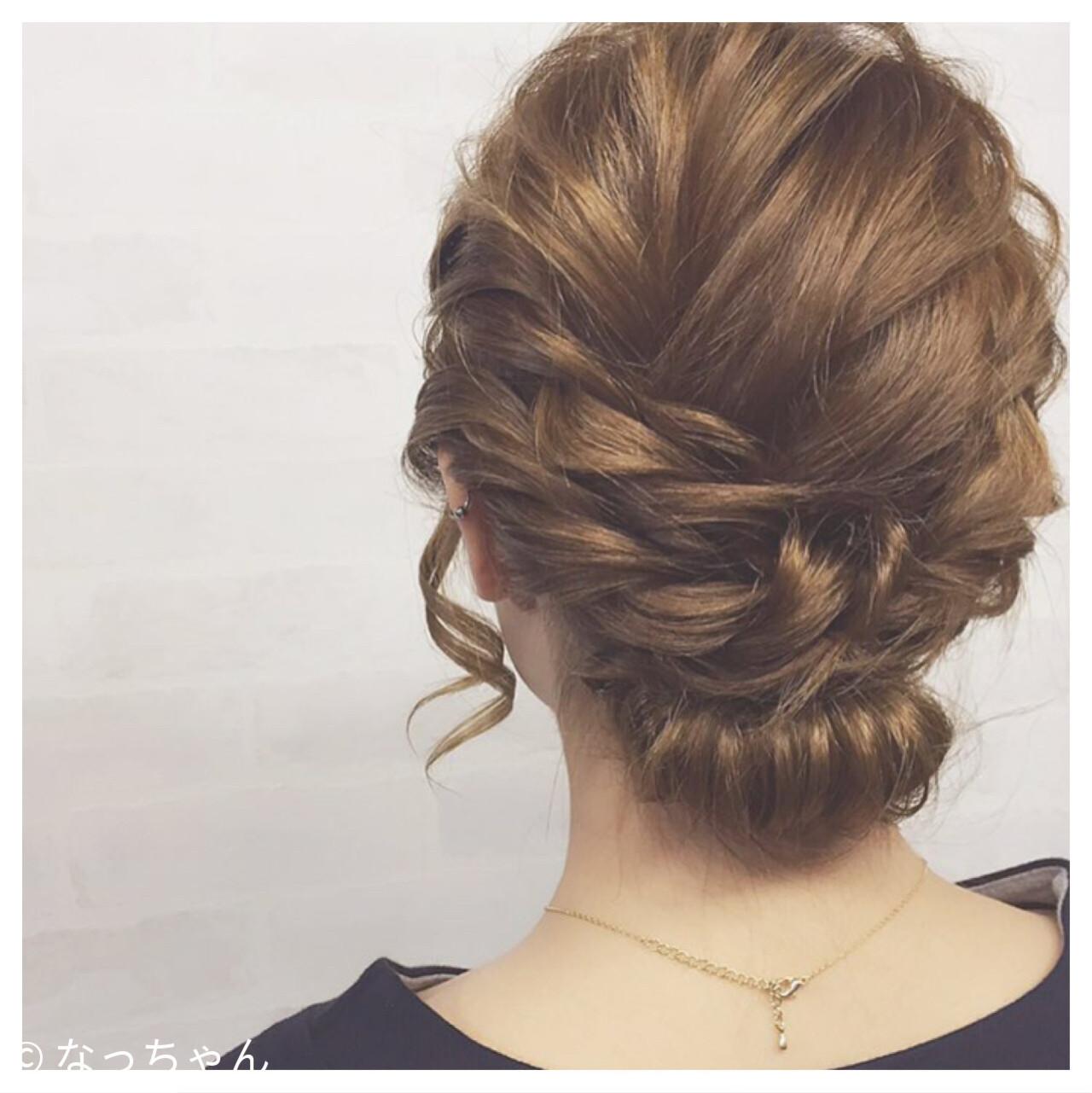 ボブ 結婚式 アップスタイル パーティ ヘアスタイルや髪型の写真・画像 | なっちゃん / G-girl