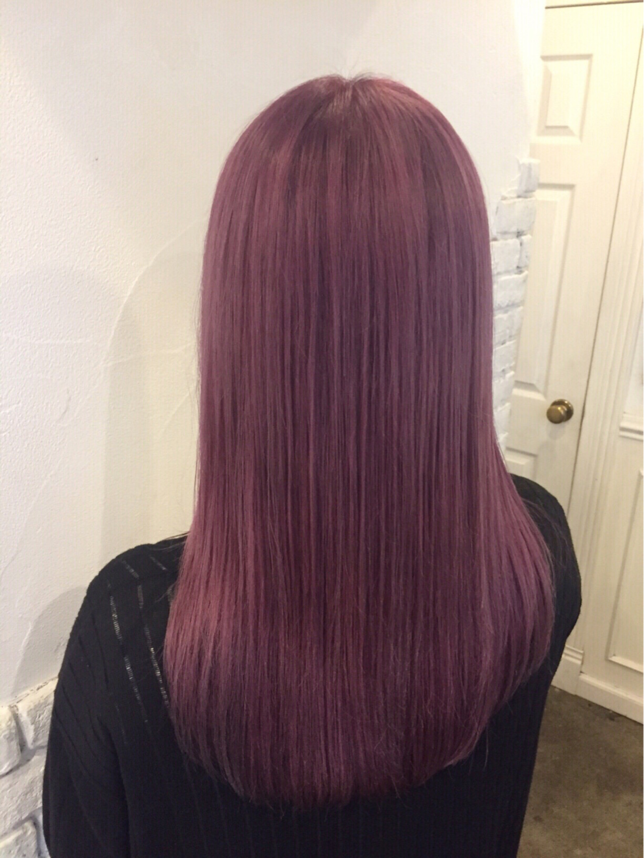 ガーリー 秋 透明感 ロング ヘアスタイルや髪型の写真・画像