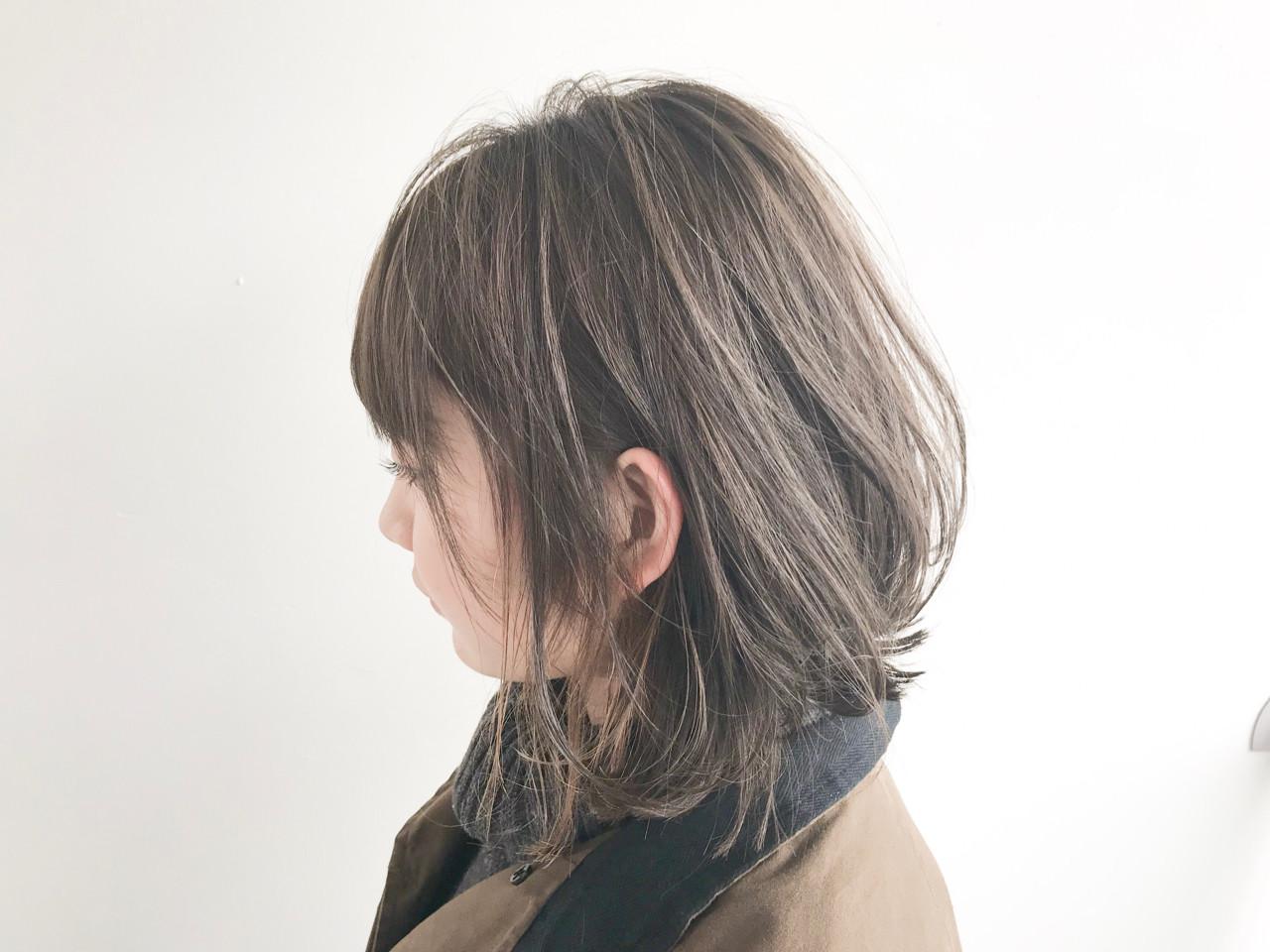 ボブ ナチュラル 大人かわいい 色気 ヘアスタイルや髪型の写真・画像 | 石井知希 / anmani
