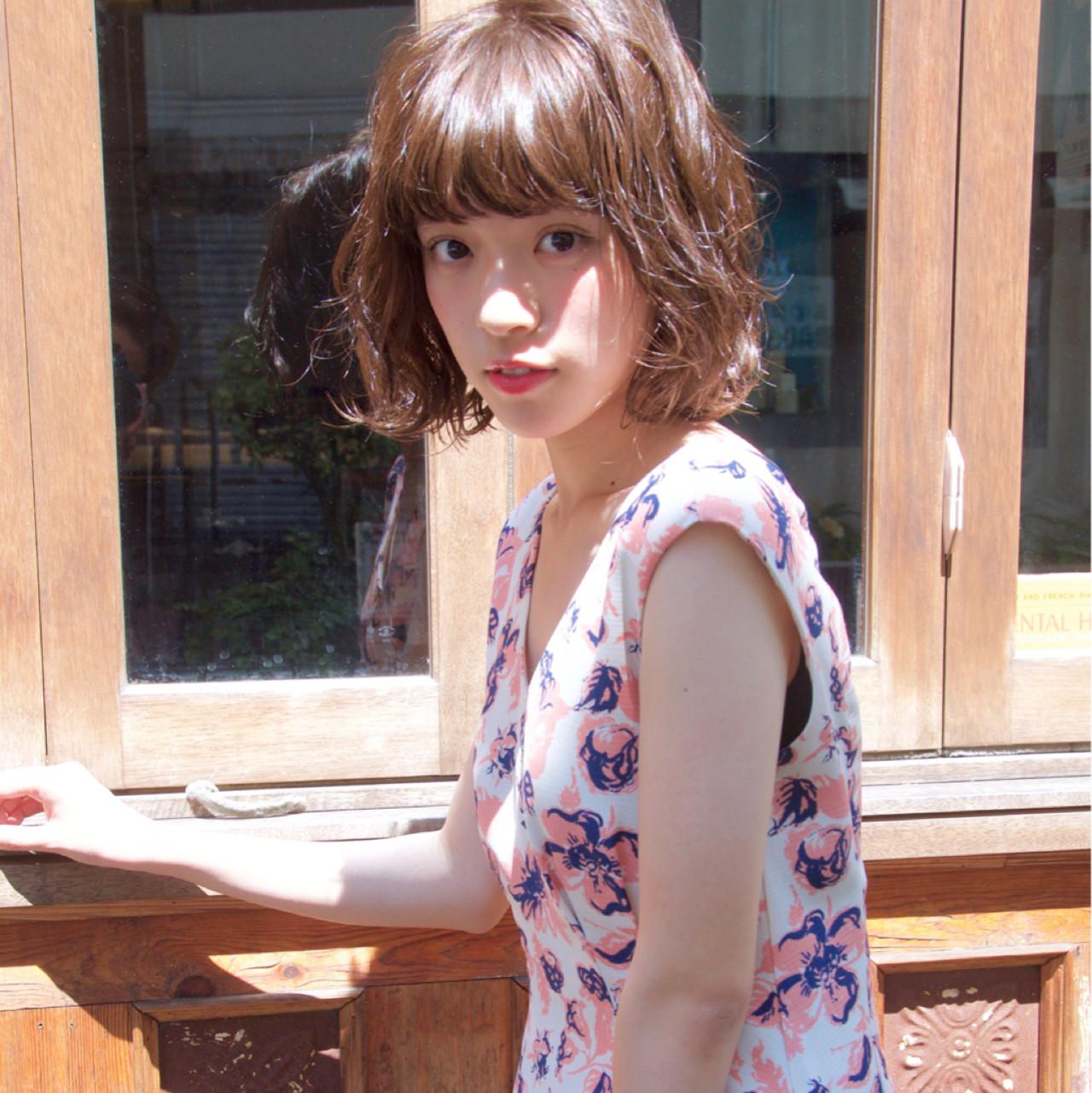 色気 ボブ くせ毛風 ストリート ヘアスタイルや髪型の写真・画像 | Ryota Yamamoto Daisy / Daisy