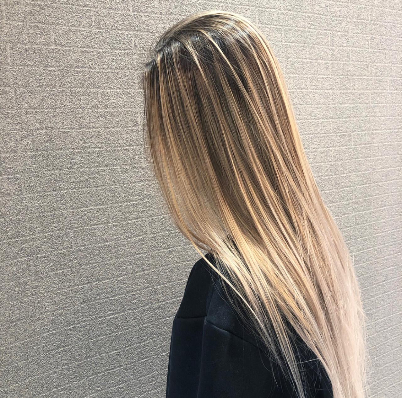 ストリート 外国人風 セミロング デート ヘアスタイルや髪型の写真・画像 | アンドウ ユウ / agu hair edge