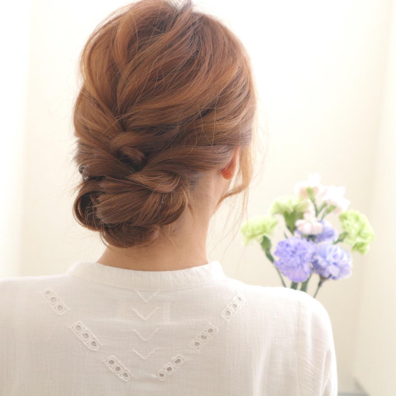 まとめ髪 ショート 簡単ヘアアレンジ ヘアアレンジ ヘアスタイルや髪型の写真・画像 | 桑村亮太/CALIF hair store / 函館/CALIF hair store/キャリフ ヘアストア