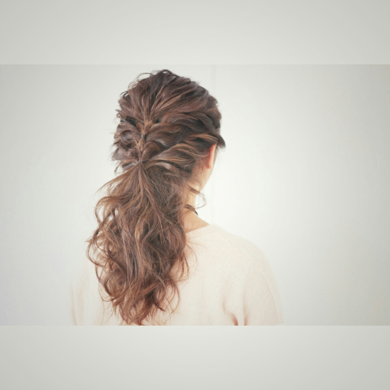 ナチュラル 簡単ヘアアレンジ 大人かわいい セミロング ヘアスタイルや髪型の写真・画像 | 福原 慶之 / intimhair
