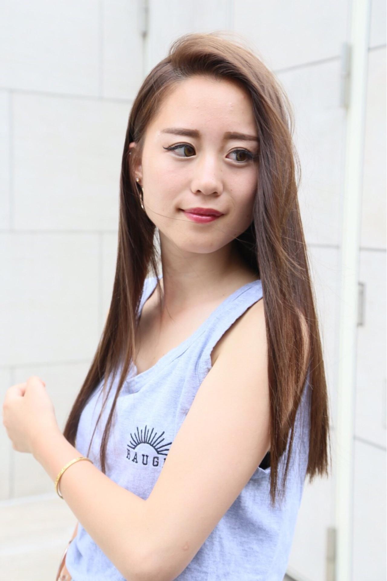 ロング デート ナチュラル 女子会 ヘアスタイルや髪型の写真・画像