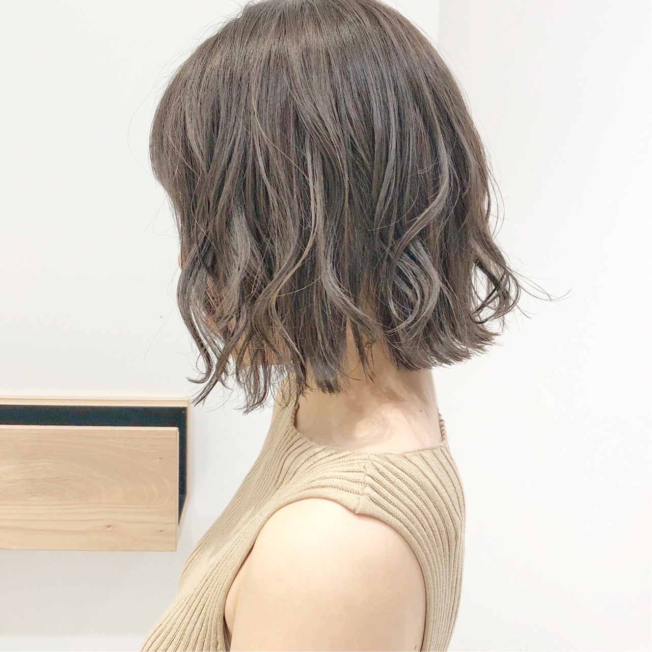 ナチュラル デート ボブ スポーツ ヘアスタイルや髪型の写真・画像 | 『ボブ美容師』永田邦彦 表参道 / send by HAIR