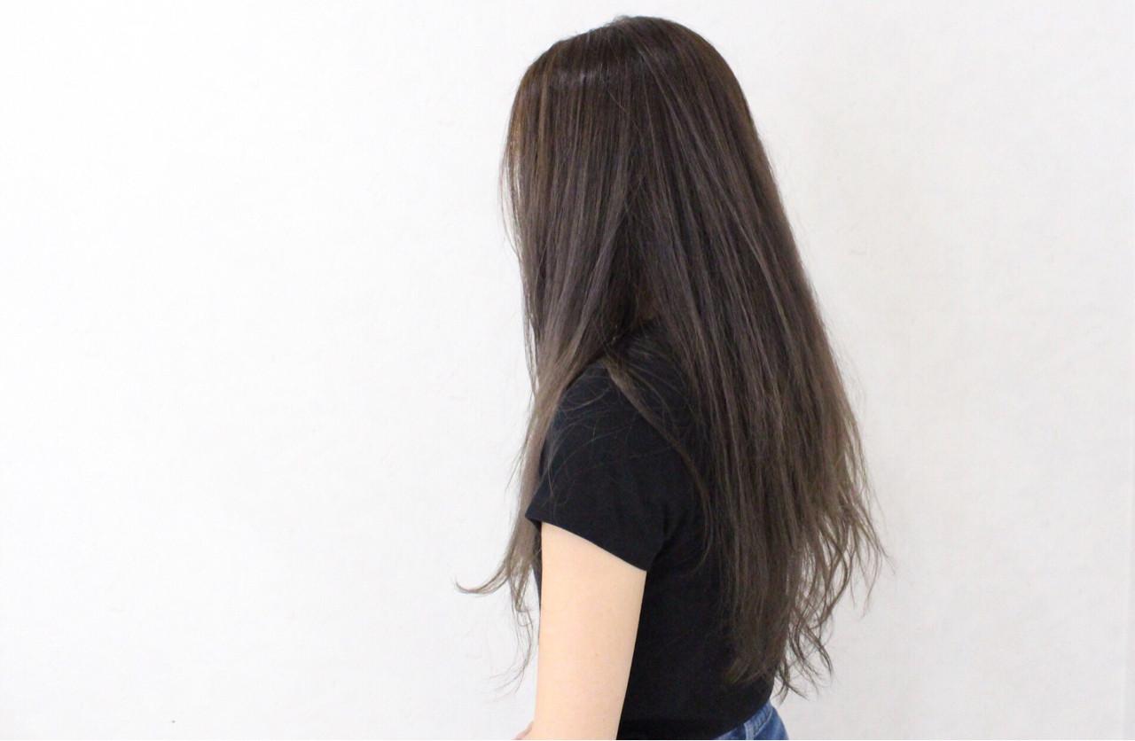 ハイライト ロング グラデーションカラー 外国人風 ヘアスタイルや髪型の写真・画像 | 伊藤 貴昭 / CACINA  カシナ