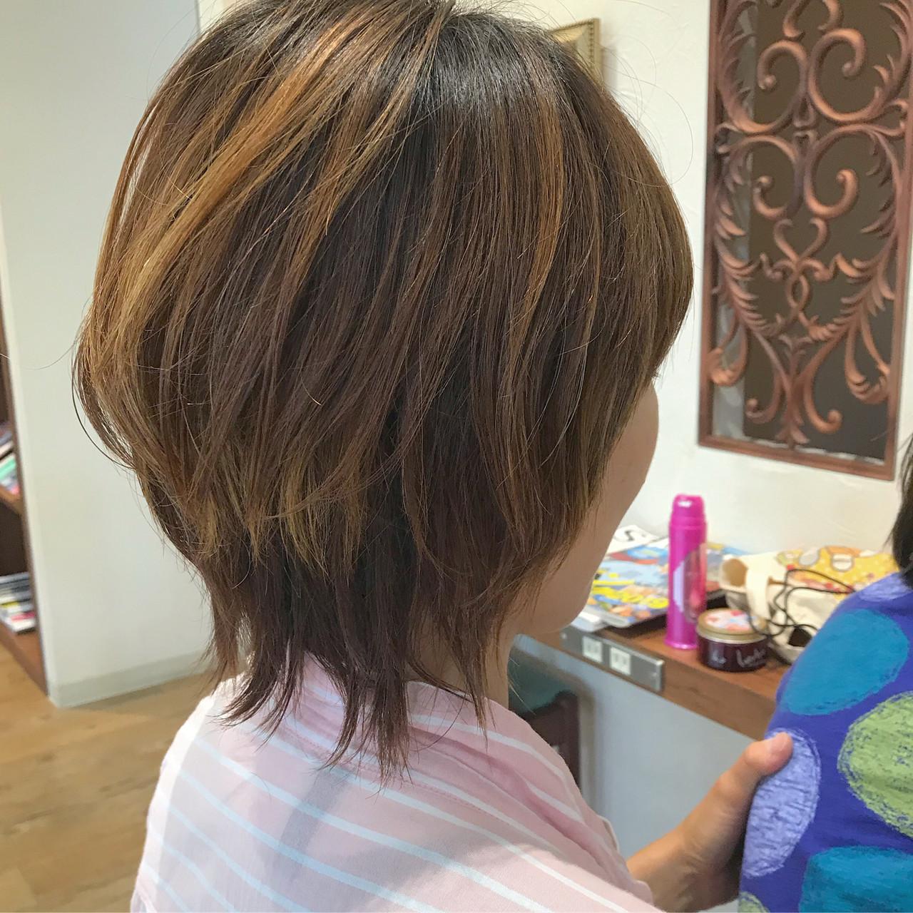 マッシュ ボブ マッシュヘア マッシュウルフ ヘアスタイルや髪型の写真・画像 | Nakamura Mari / rocca