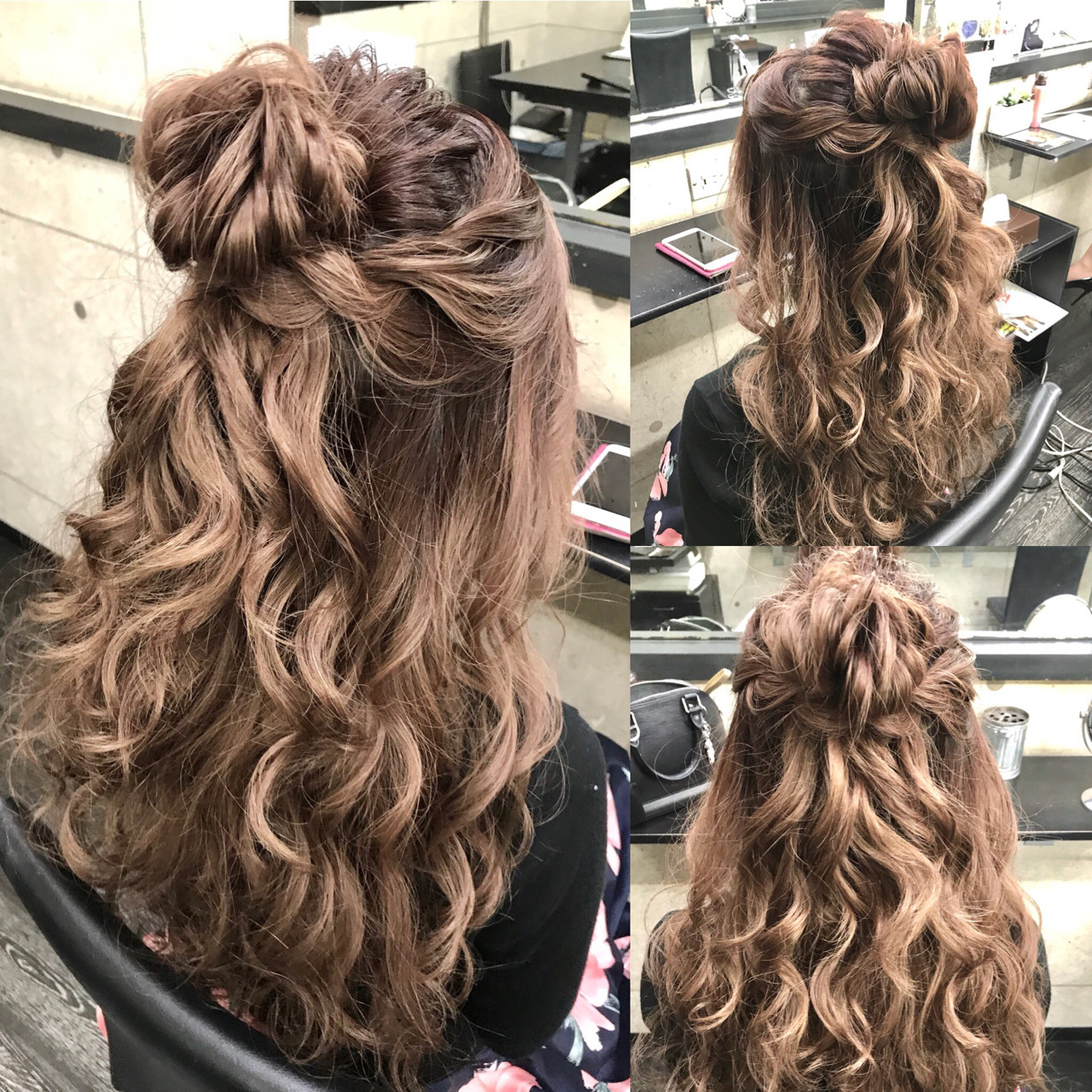 ヘアアレンジ ガーリー ショート ロング ヘアスタイルや髪型の写真・画像 | Hironobu Nakae / LOGUE-karasuma-