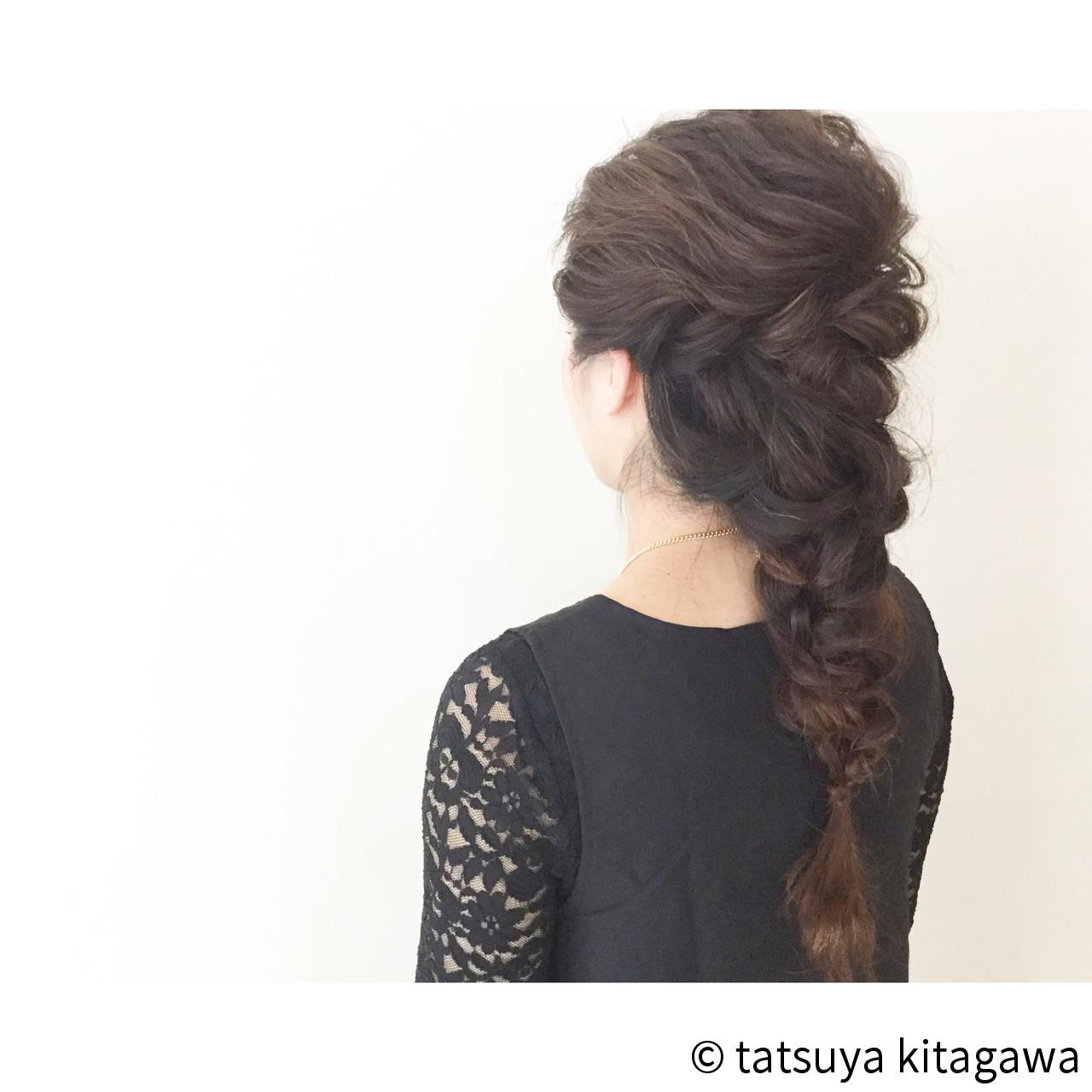 フェミニン 外国人風 ロング 花嫁 ヘアスタイルや髪型の写真・画像
