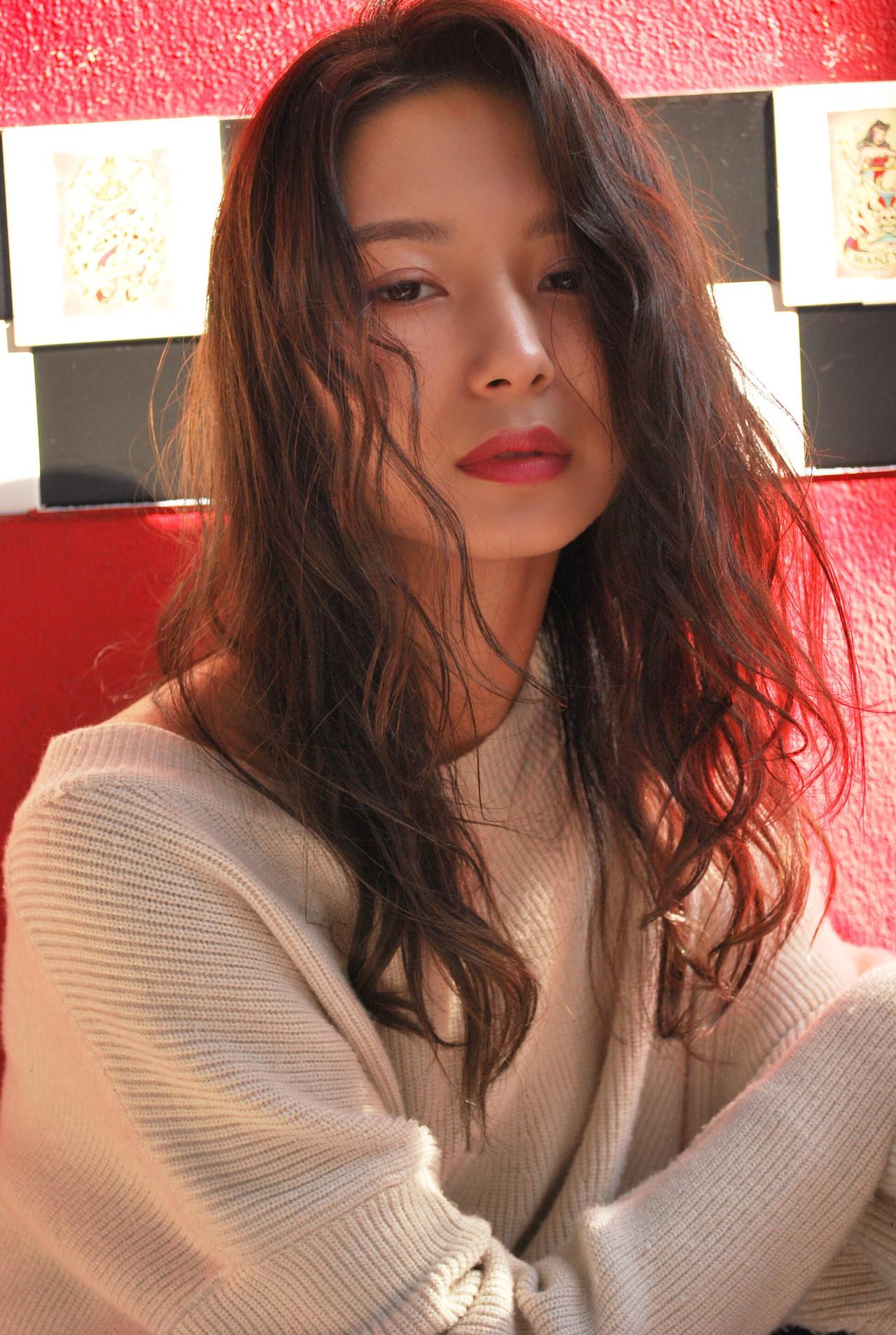 抜け感 かっこいい 簡単 リラックス ヘアスタイルや髪型の写真・画像   千田 営司 / La familia