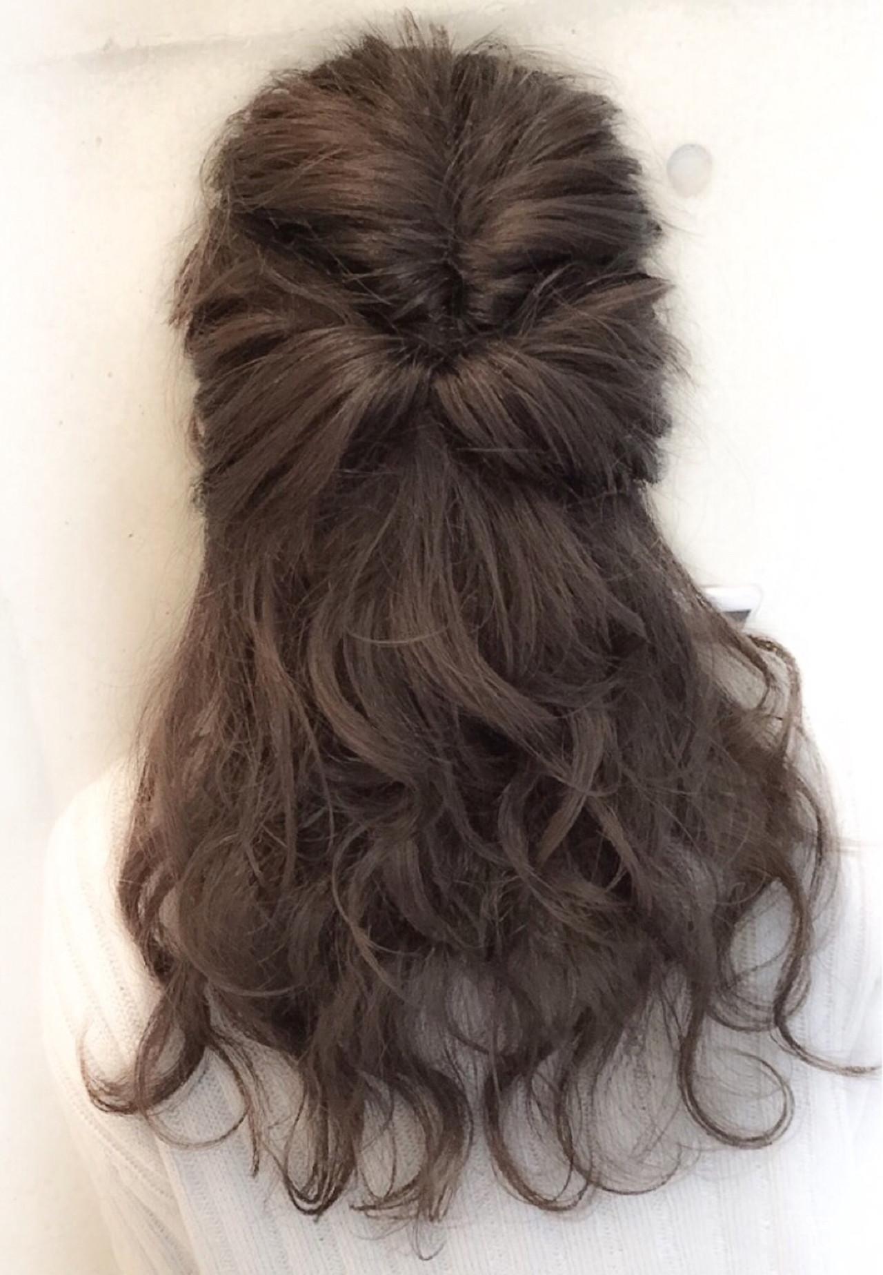 セミロング ゆるふわ 簡単ヘアアレンジ ショート ヘアスタイルや髪型の写真・画像 | スガ シュンスケ / Tierra (ティエラ)