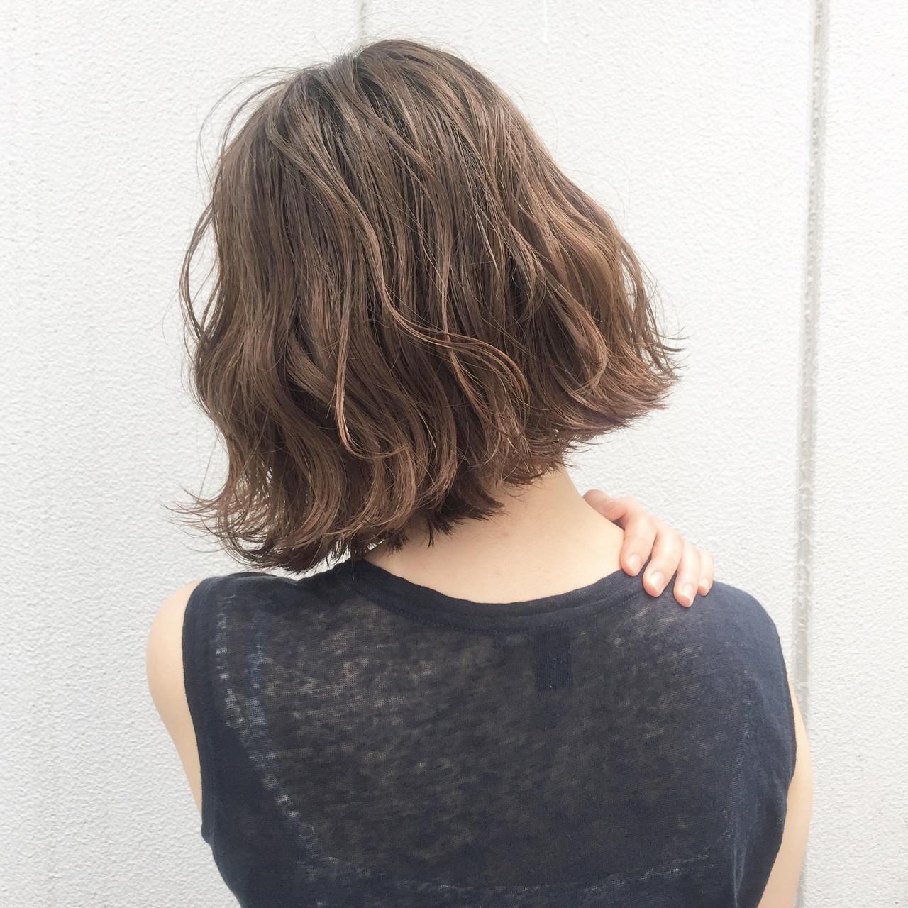 ヘアアレンジ ストリート ボブ 暗髪 ヘアスタイルや髪型の写真・画像   Nobu / ALBUM