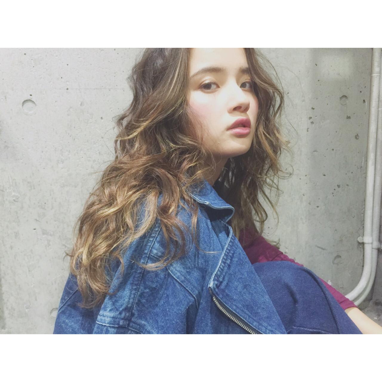モテ髪 透明感 愛され ロング ヘアスタイルや髪型の写真・画像 | 兼井 遼 / wille