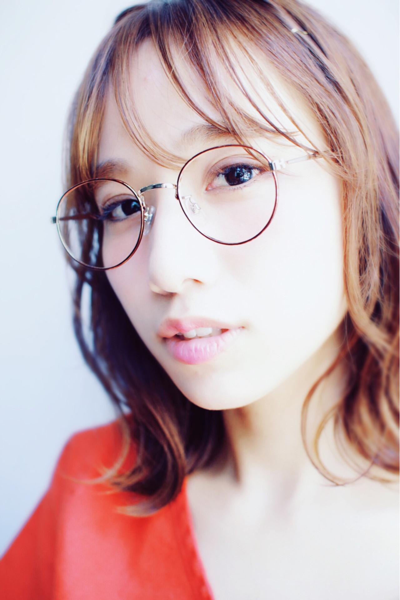 透明感 大人かわいい 外国人風 ストリート ヘアスタイルや髪型の写真・画像