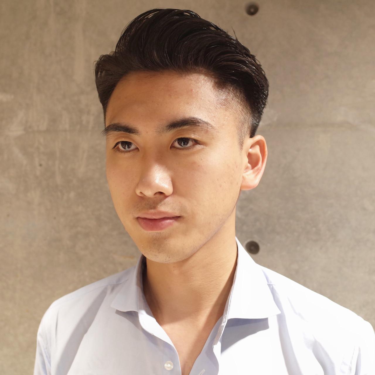 コンサバ ツーブロック メンズヘア メンズ ヘアスタイルや髪型の写真・画像
