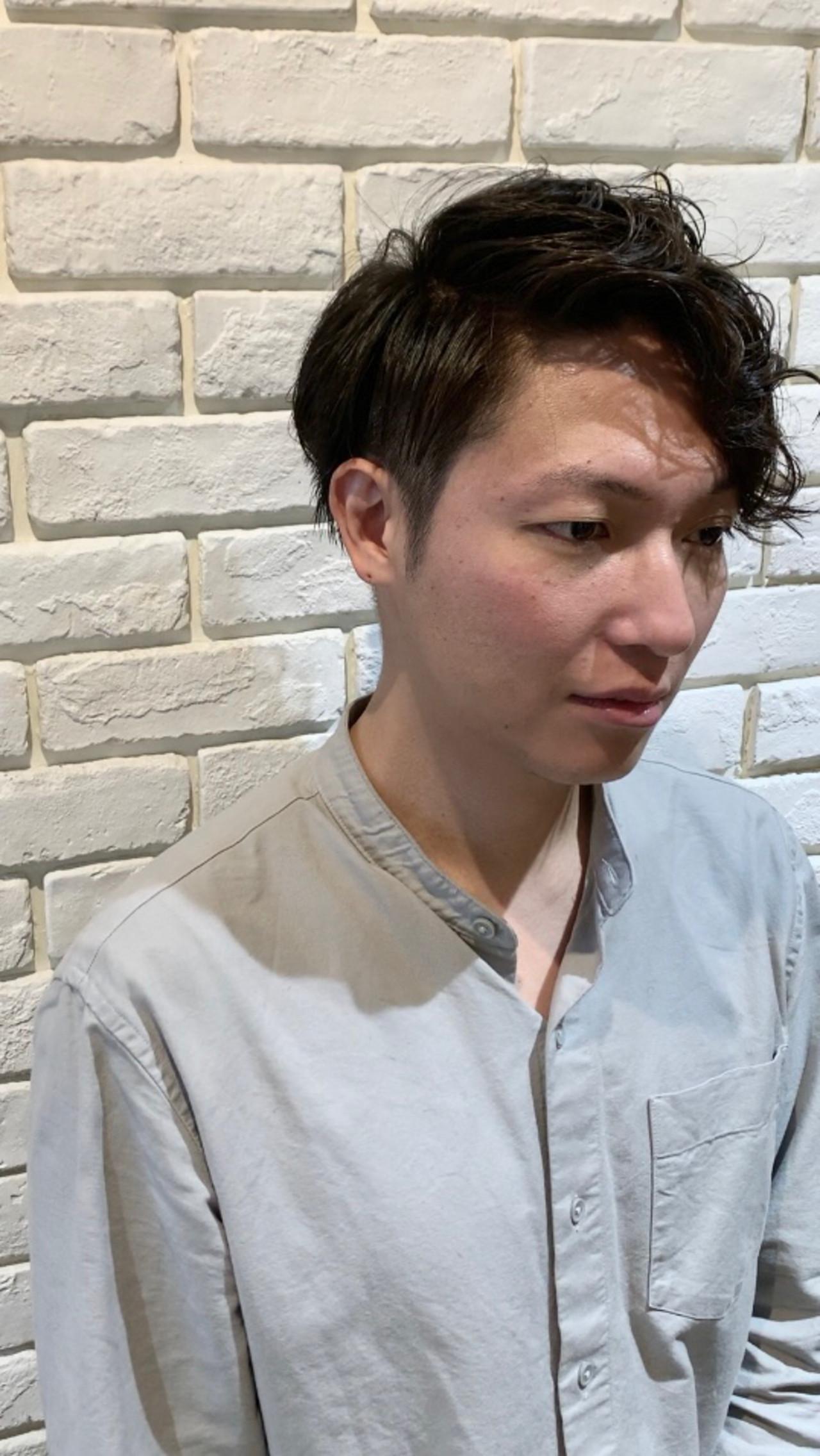 メンズヘア ショート ストリート メンズ ヘアスタイルや髪型の写真・画像   小林 カナ / PREGO 【プレーゴ】