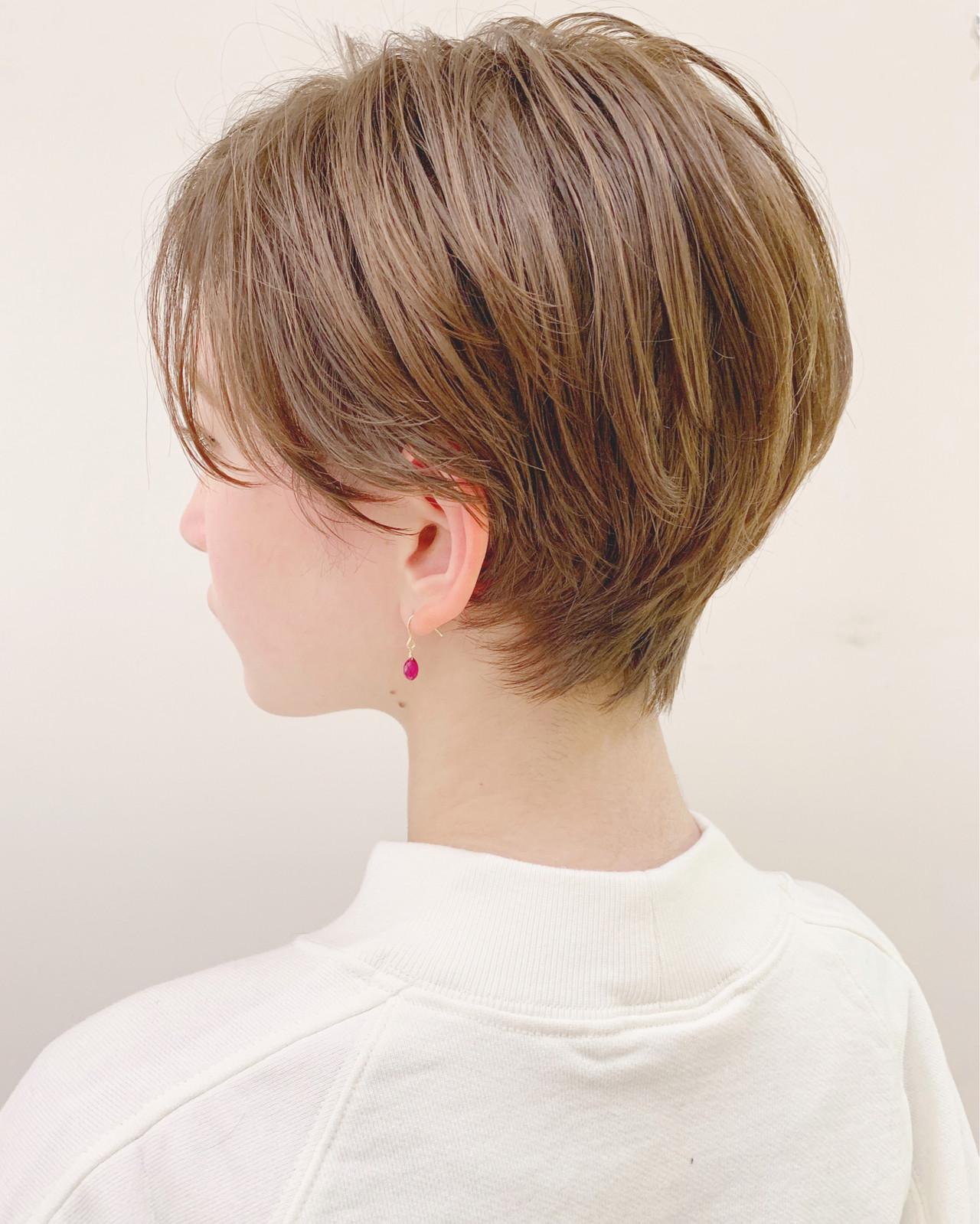 オフィス アウトドア デート ナチュラル ヘアスタイルや髪型の写真・画像