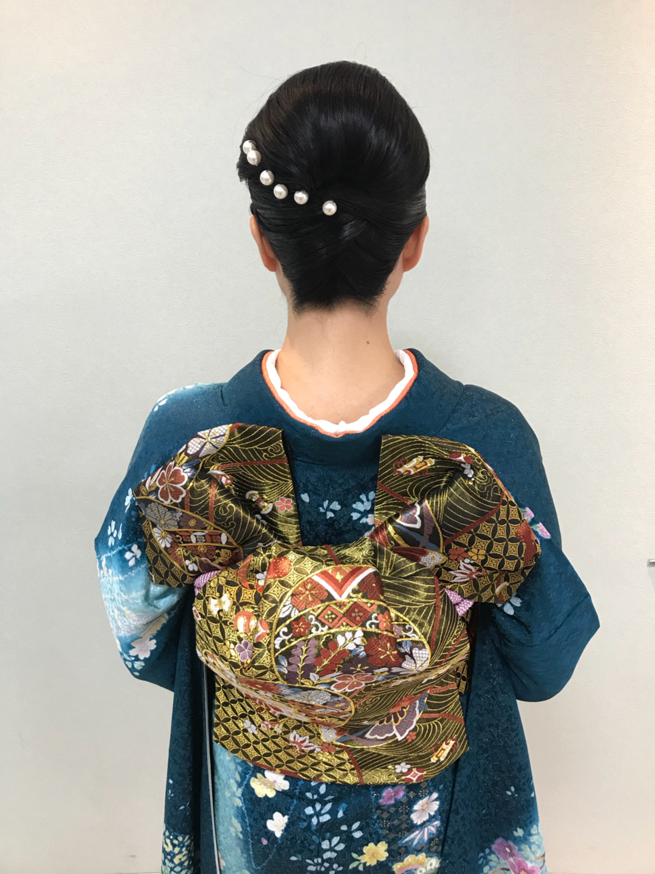 結婚式 エレガント ヘアアレンジ セミロング ヘアスタイルや髪型の写真・画像 | affect・Misuzu / affect
