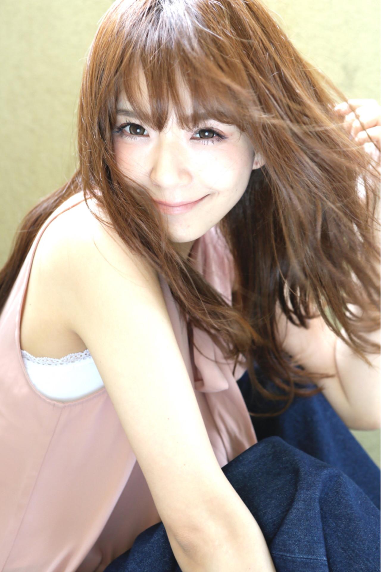 ストリート ゆるふわ フェミニン 大人かわいい ヘアスタイルや髪型の写真・画像 | 清水桃子 / ミルクブッシュ / ミルクブッシュ