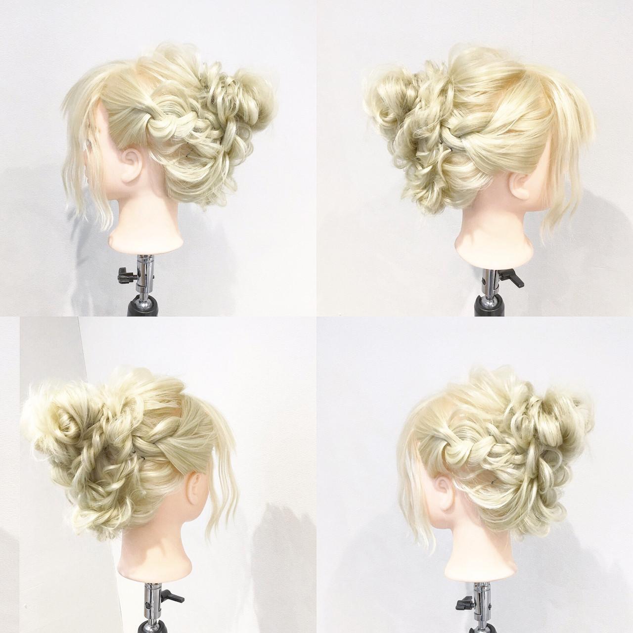 ショート 簡単ヘアアレンジ フェミニン ゆるふわ ヘアスタイルや髪型の写真・画像 | 美容師HIRO/Amoute代表 / Amoute/アムティ