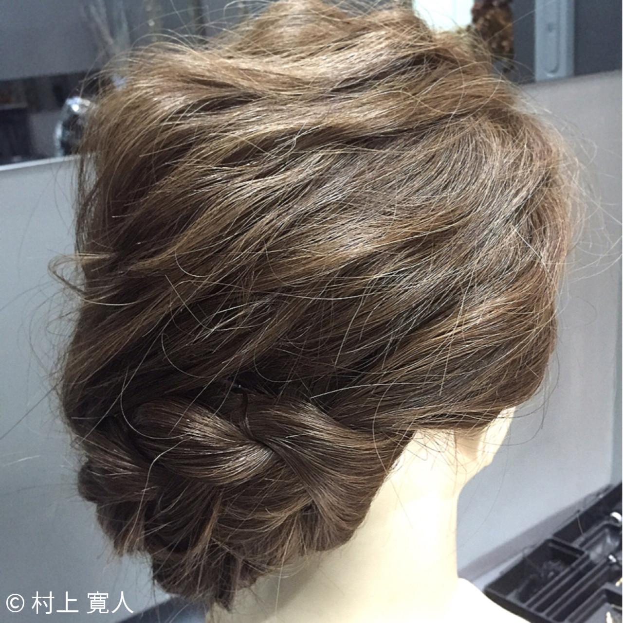 和装 ヘアアレンジ アップスタイル 編み込み ヘアスタイルや髪型の写真・画像