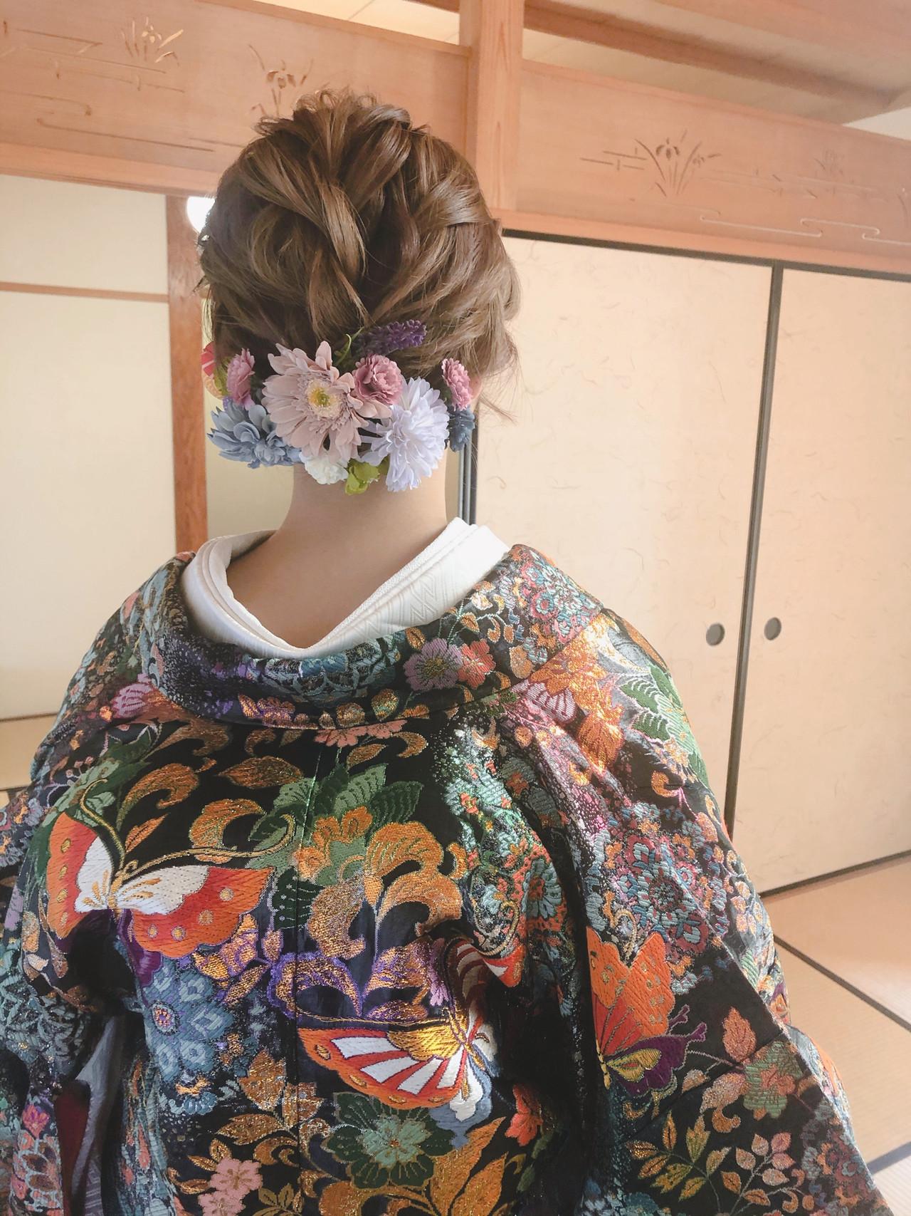 結婚式 フェミニン ショート ショートボブ ヘアスタイルや髪型の写真・画像