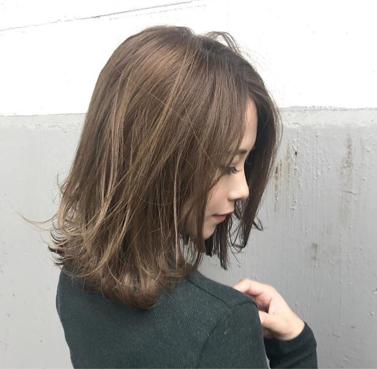 デート アンニュイ 透明感 秋 ヘアスタイルや髪型の写真・画像 | 落合 健二 / hair ales