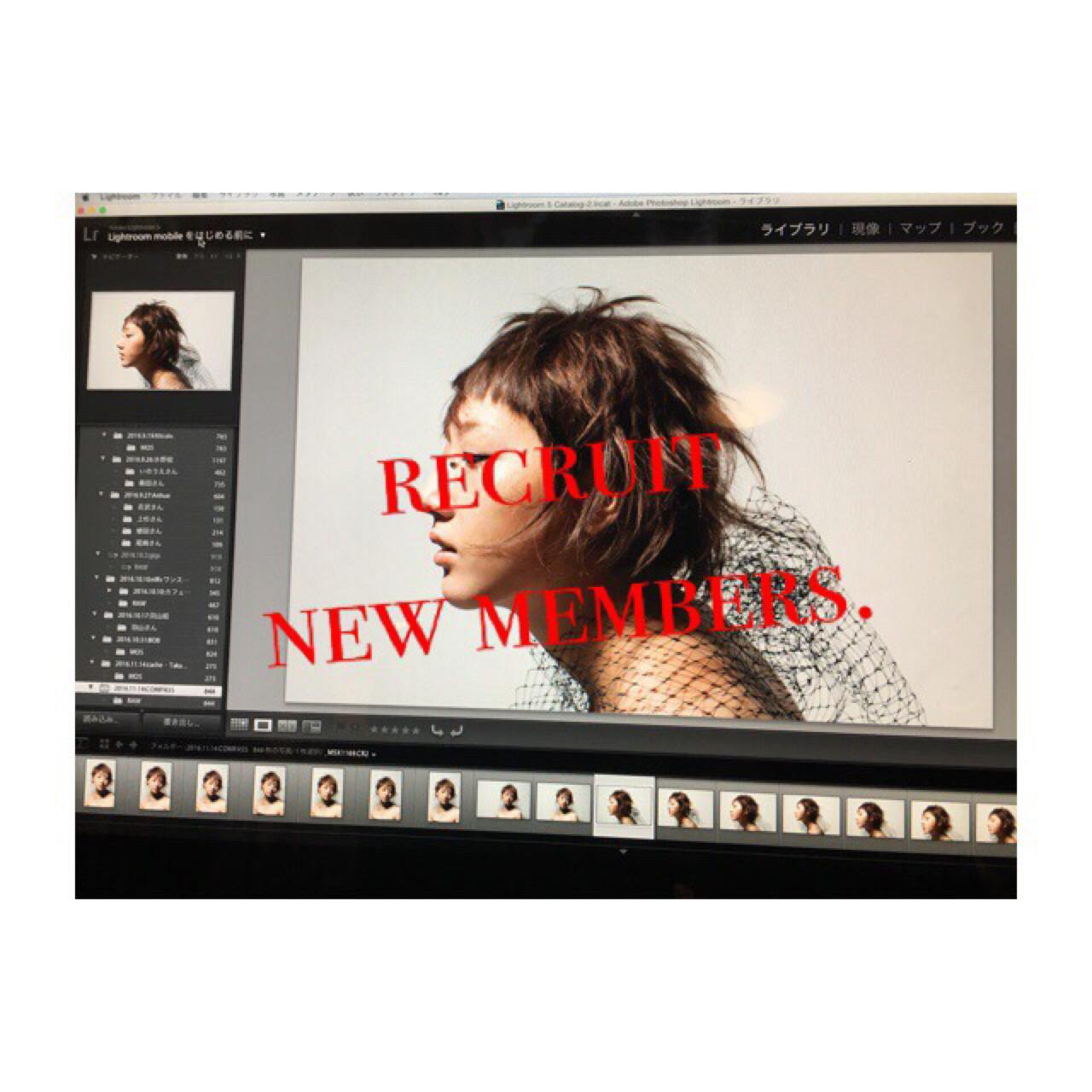 シースルーバング ボブ 波ウェーブ ナチュラル ヘアスタイルや髪型の写真・画像