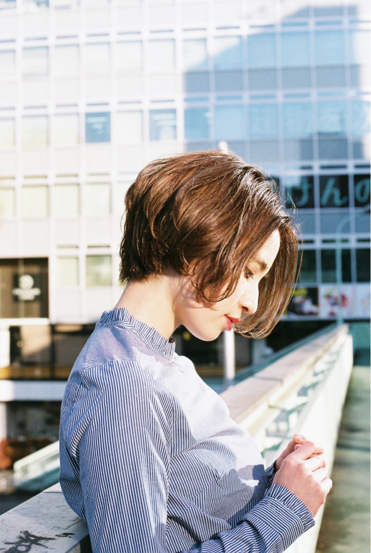 ニュアンス 冬 こなれ感 小顔 ヘアスタイルや髪型の写真・画像   菅沼宏恵 /