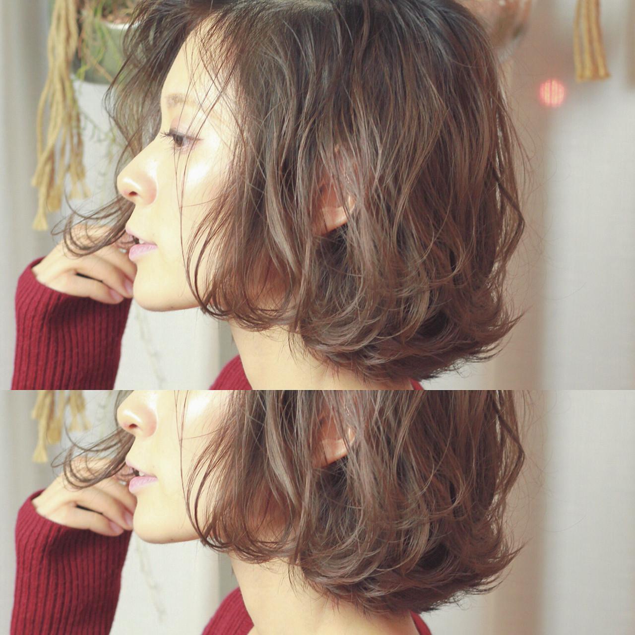 コンサバ 外ハネ ボブ ハイライト ヘアスタイルや髪型の写真・画像   須賀 ユウスケ / Rizm