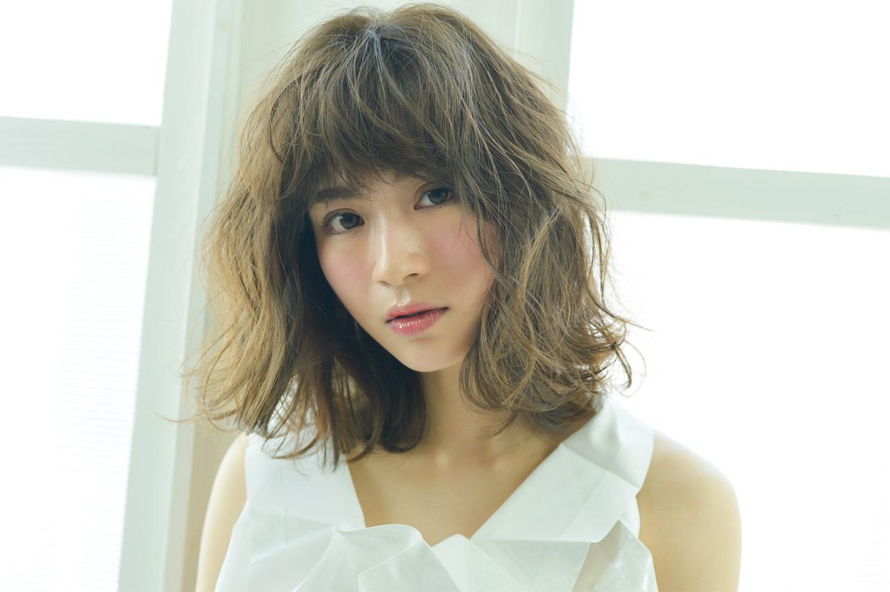 ウェーブ こなれ感 大人女子 モード ヘアスタイルや髪型の写真・画像   Bonheur / Bonheur西梅田店