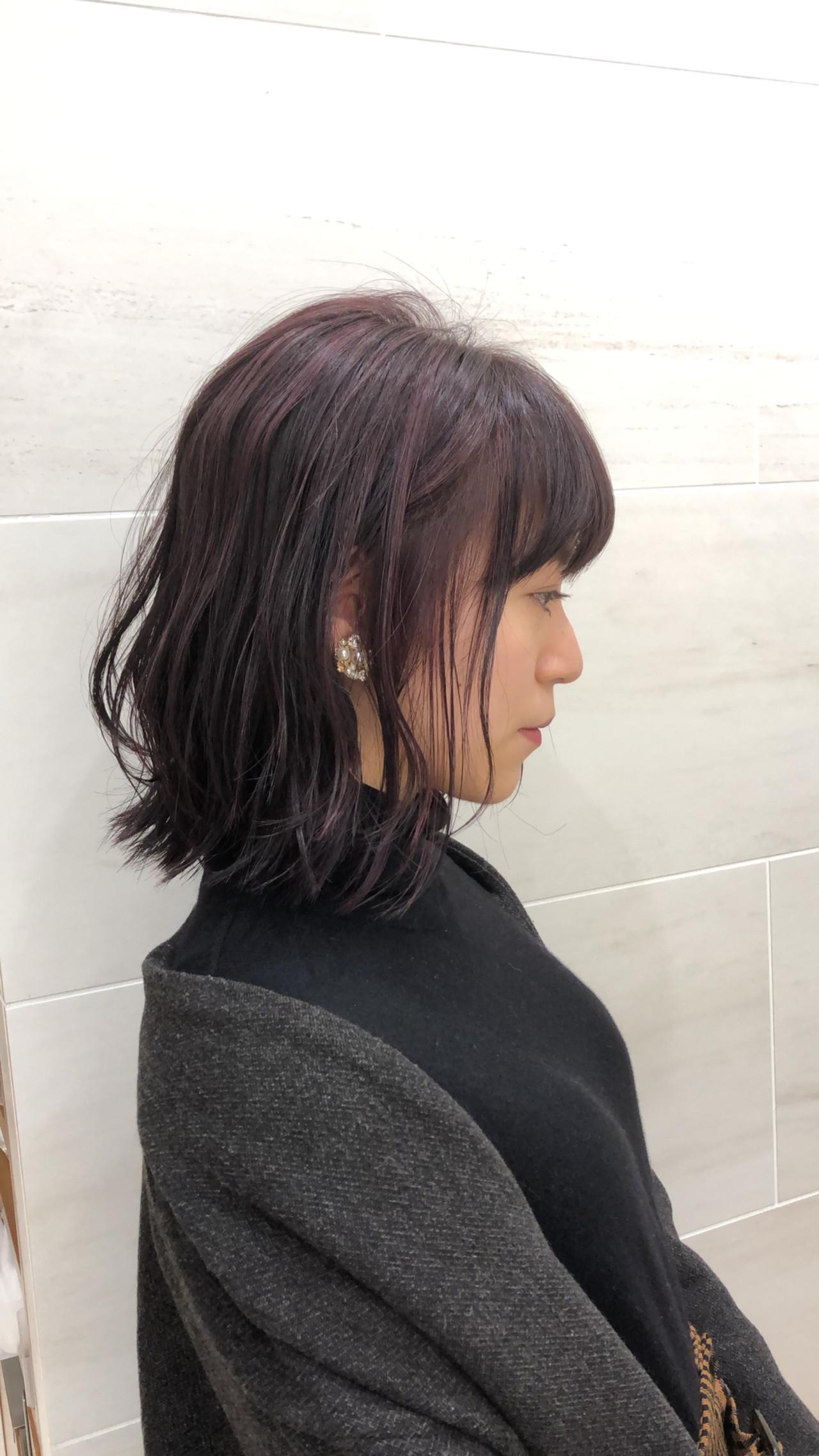 デート ガーリー 成人式 外ハネ ヘアスタイルや髪型の写真・画像   池上 一星 / GINZA PEEK-A-BOO 中央通り店