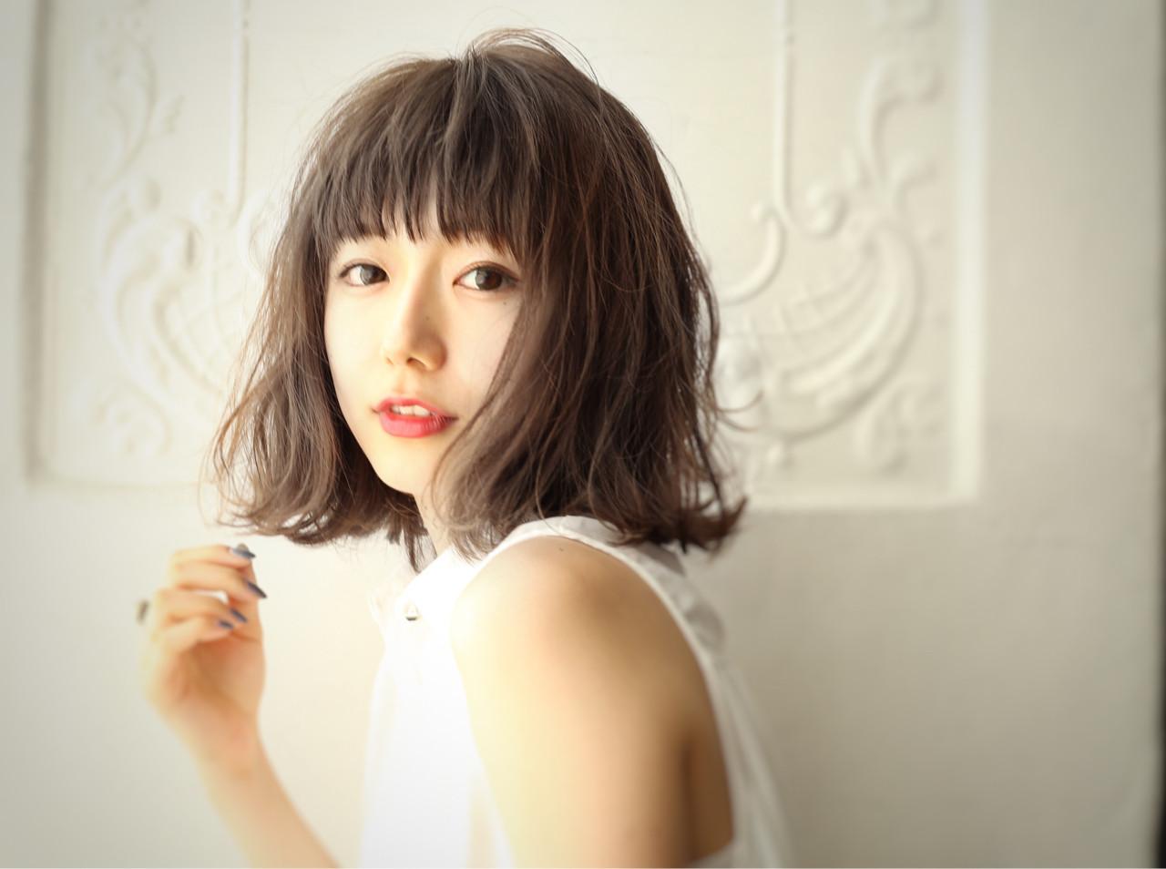 ナチュラル モテ髪 大人かわいい かわいい ヘアスタイルや髪型の写真・画像   國武泰志 / Cloe